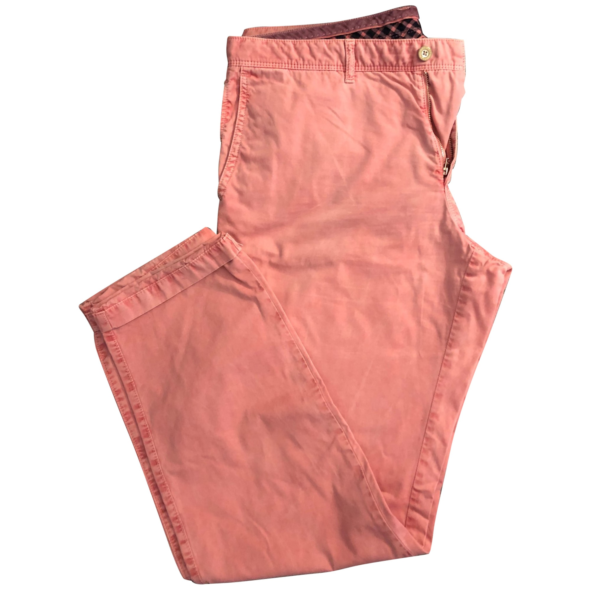 Pantalon droit HUGO BOSS Rose, fuschia, vieux rose