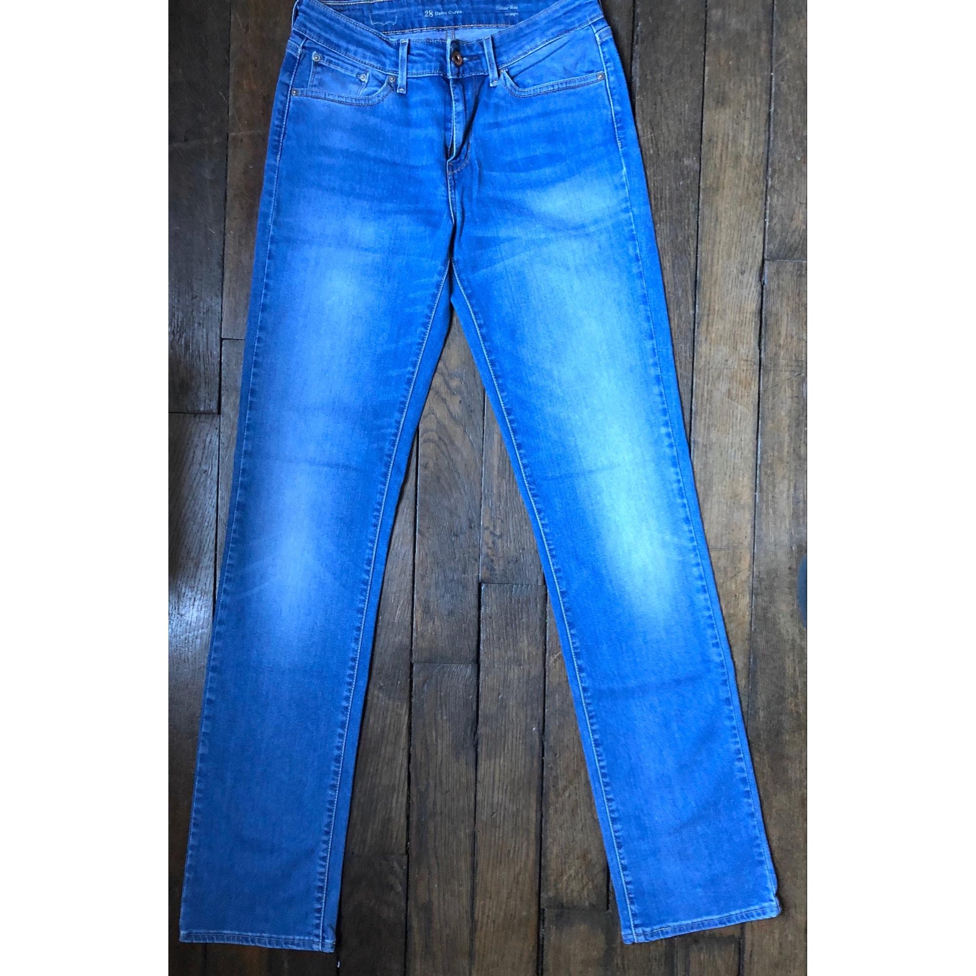 Jeans droit LEVI'S Bleu ciel
