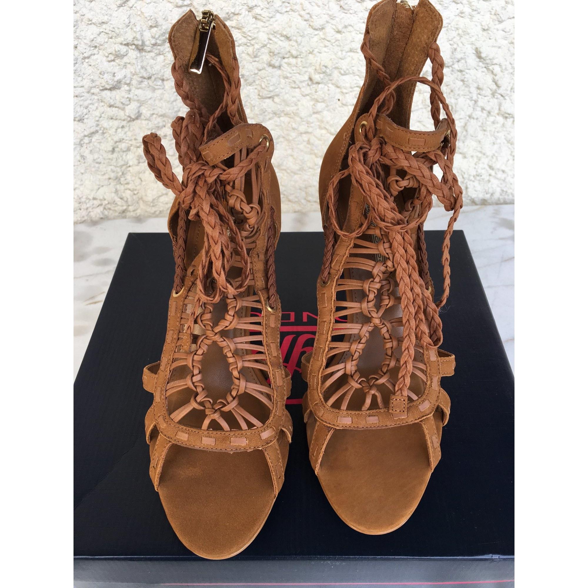 Sandales à talons BUFFALO Marron