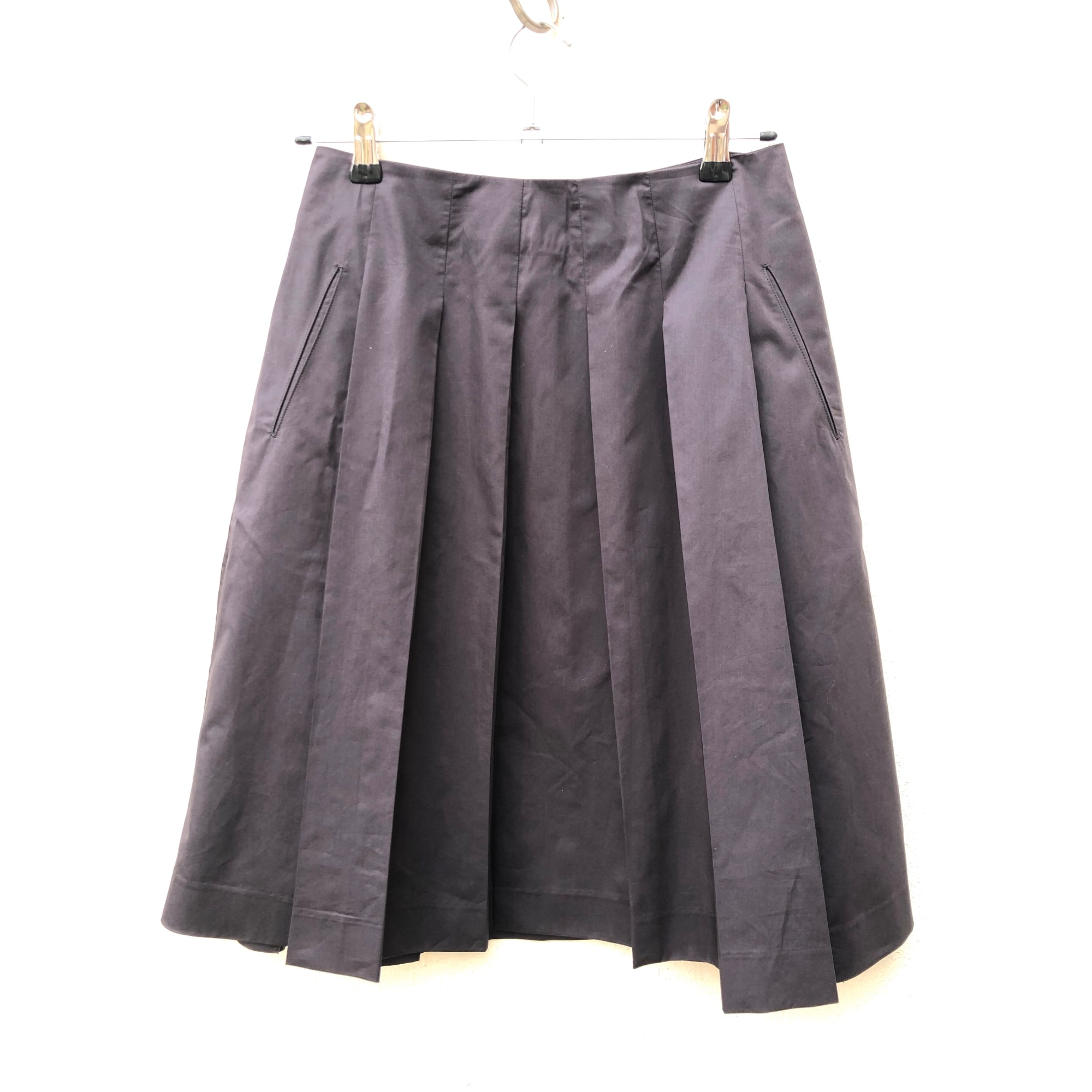 Jupe mi-longue BANANA REPUBLIC Gris, anthracite