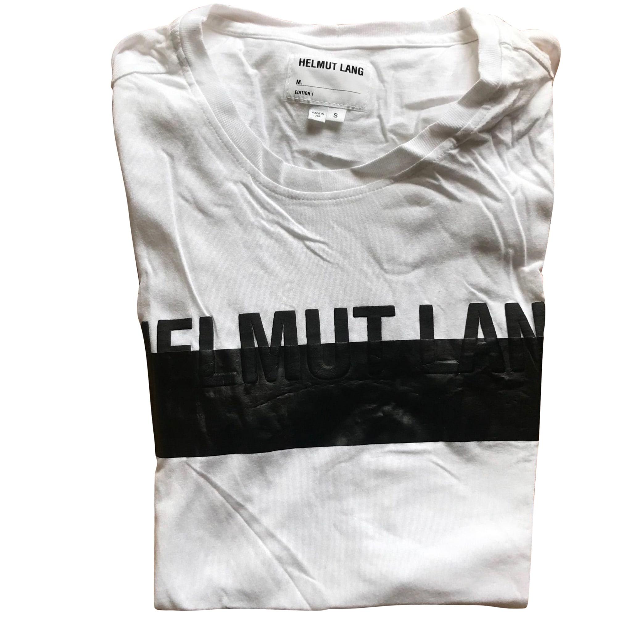 Tee-shirt HELMUT LANG Blanc, blanc cassé, écru