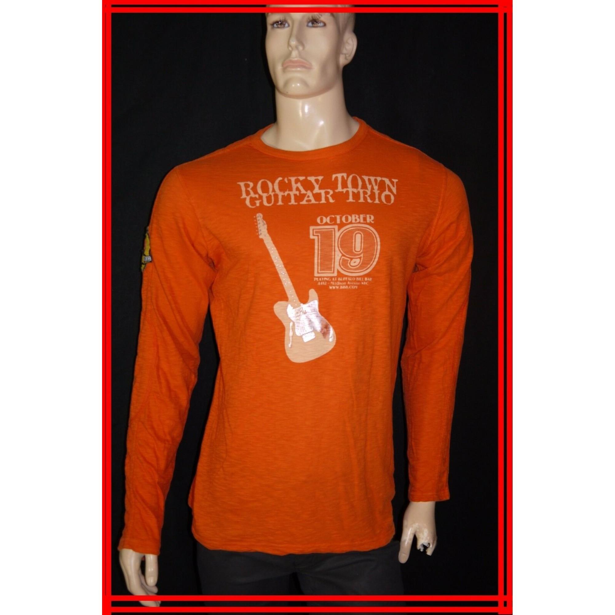 Tee-shirt GUESS Orange