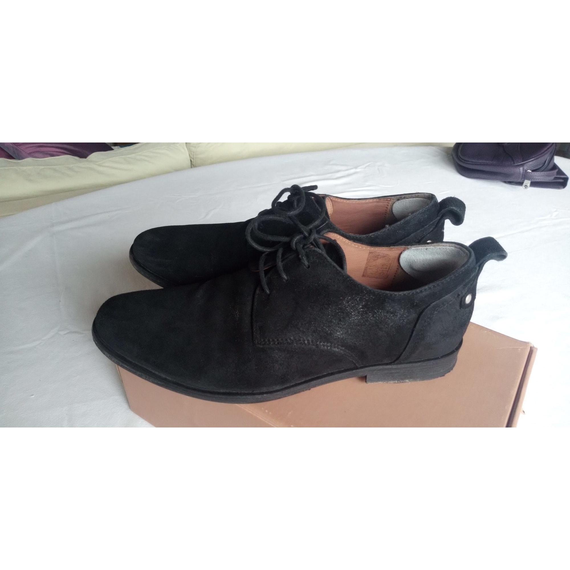 Chaussures à lacets  PALLADIUM Noir