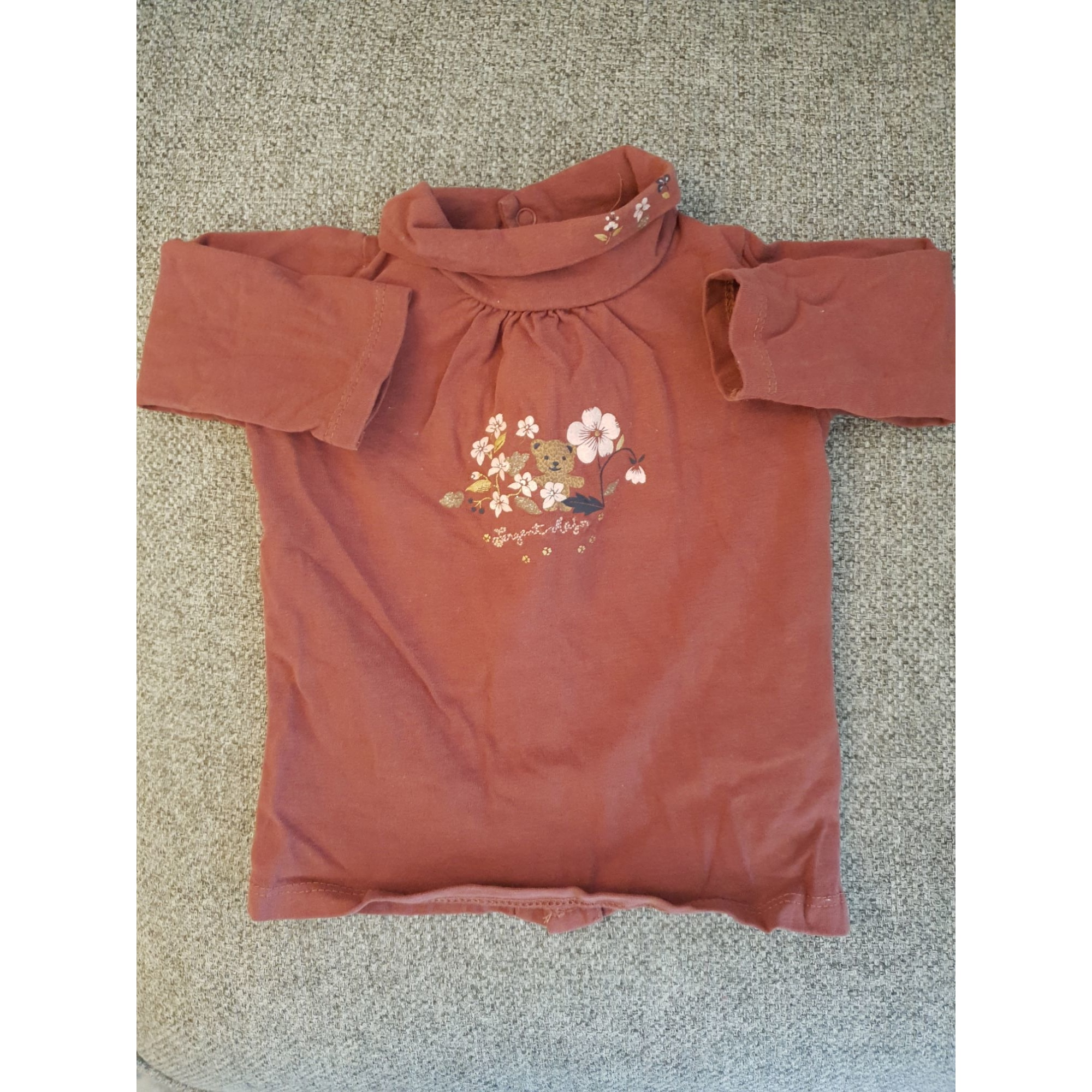 Top, tee shirt SERGENT MAJOR Rouge, bordeaux