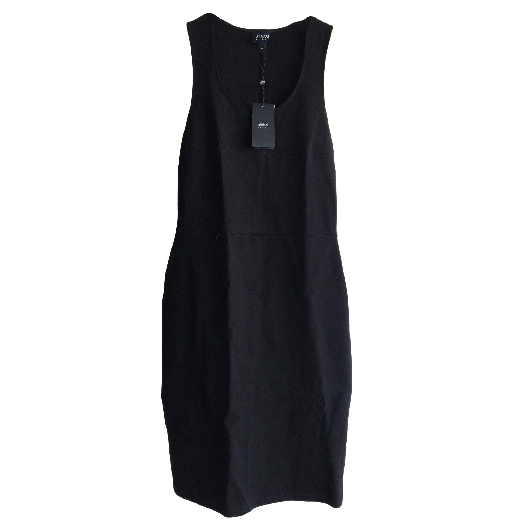 Robe mi-longue ARMANI JEANS Noir