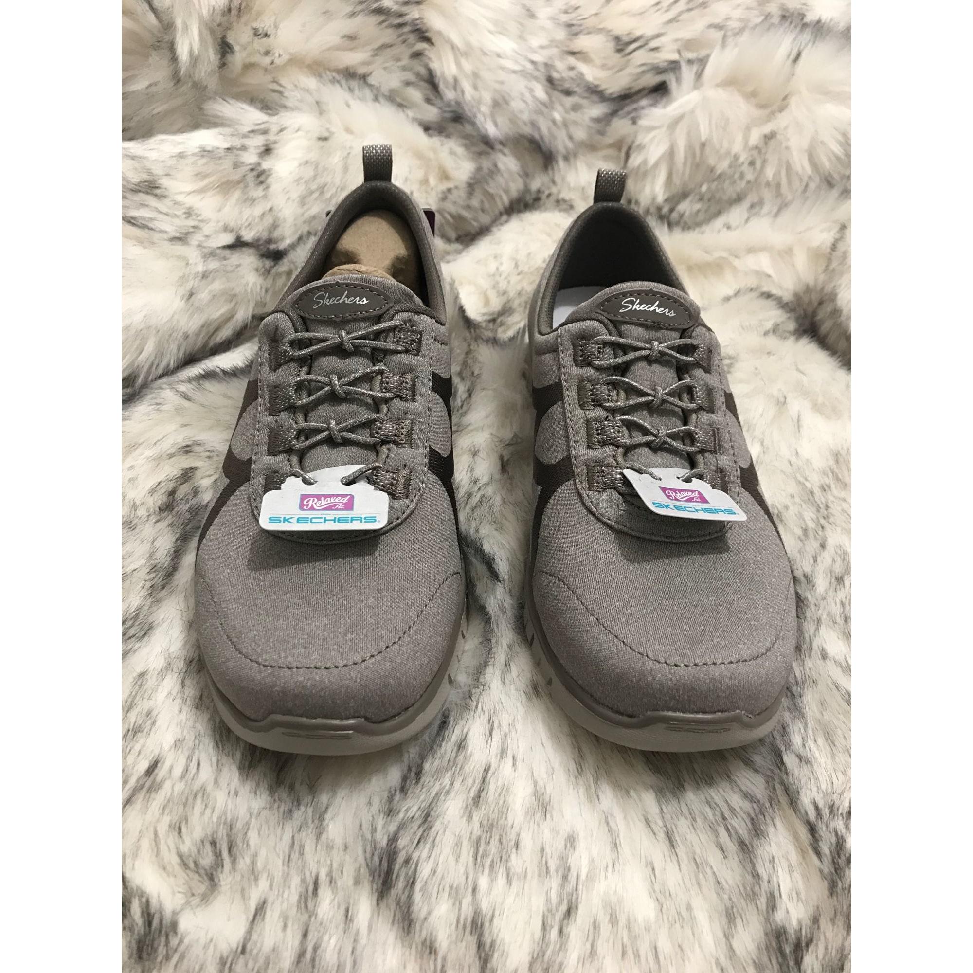 Chaussures de sport SKECHERS Marron