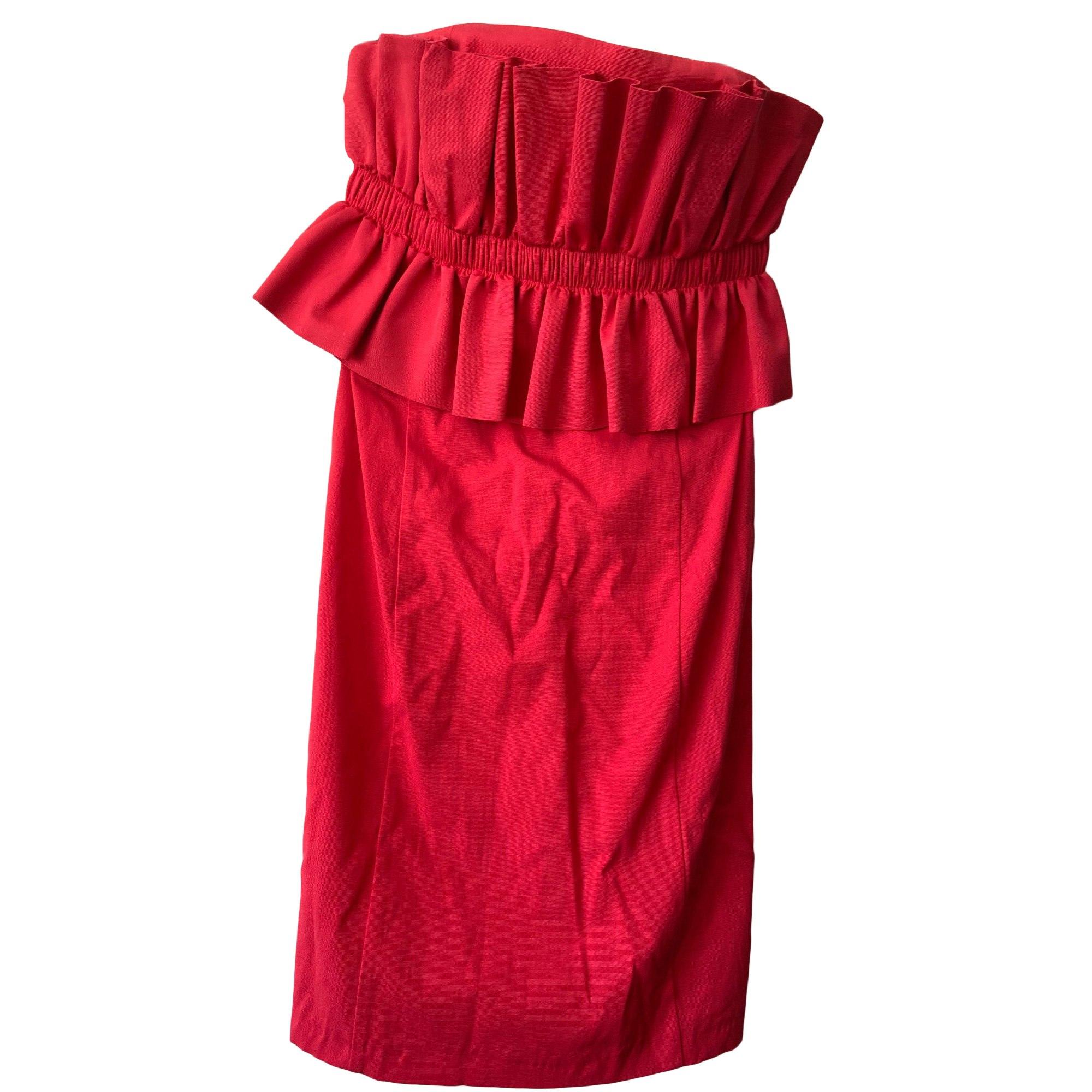 Robe bustier CLAUDIE PIERLOT Rouge, bordeaux