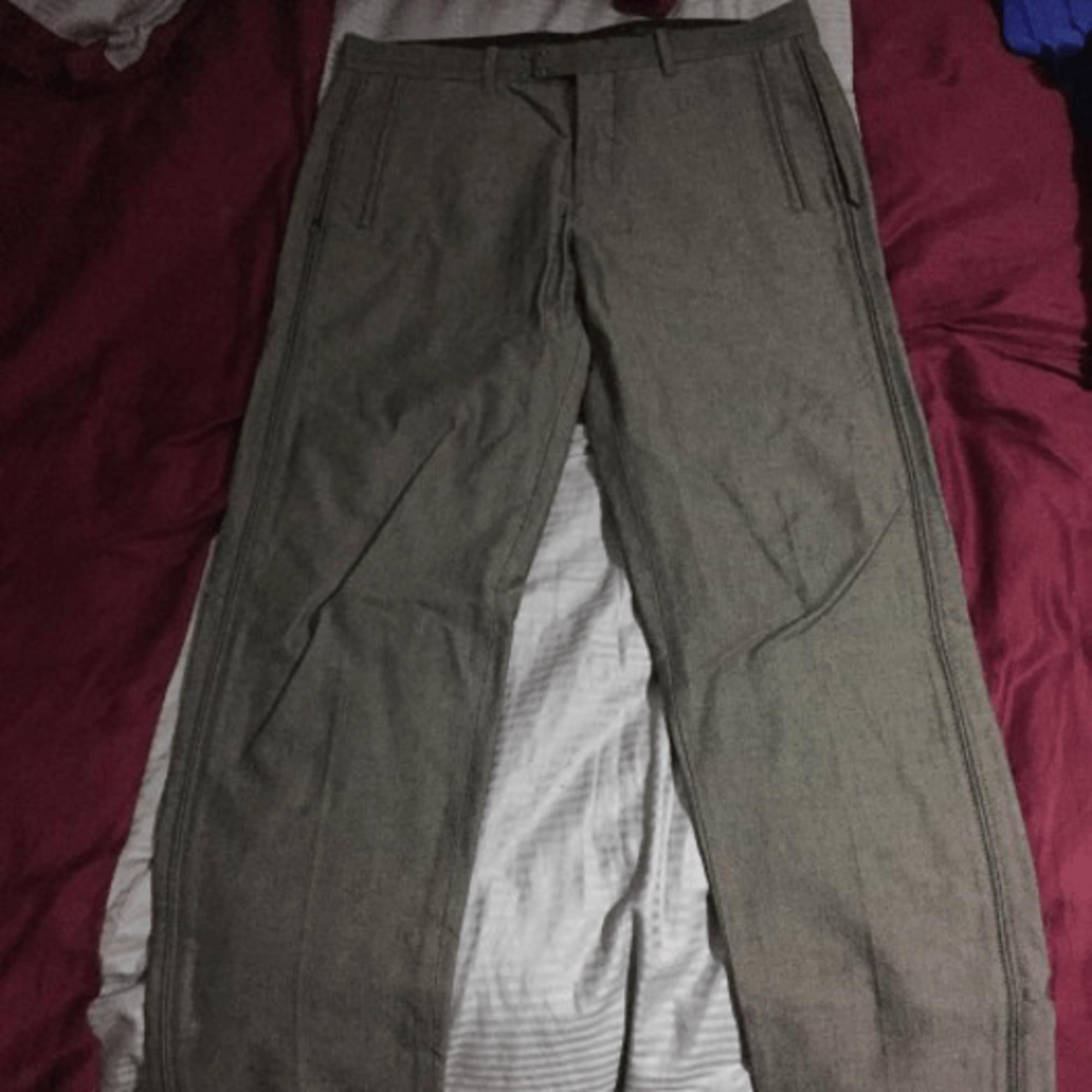 Pantalon large ARMANI Doré, bronze, cuivre