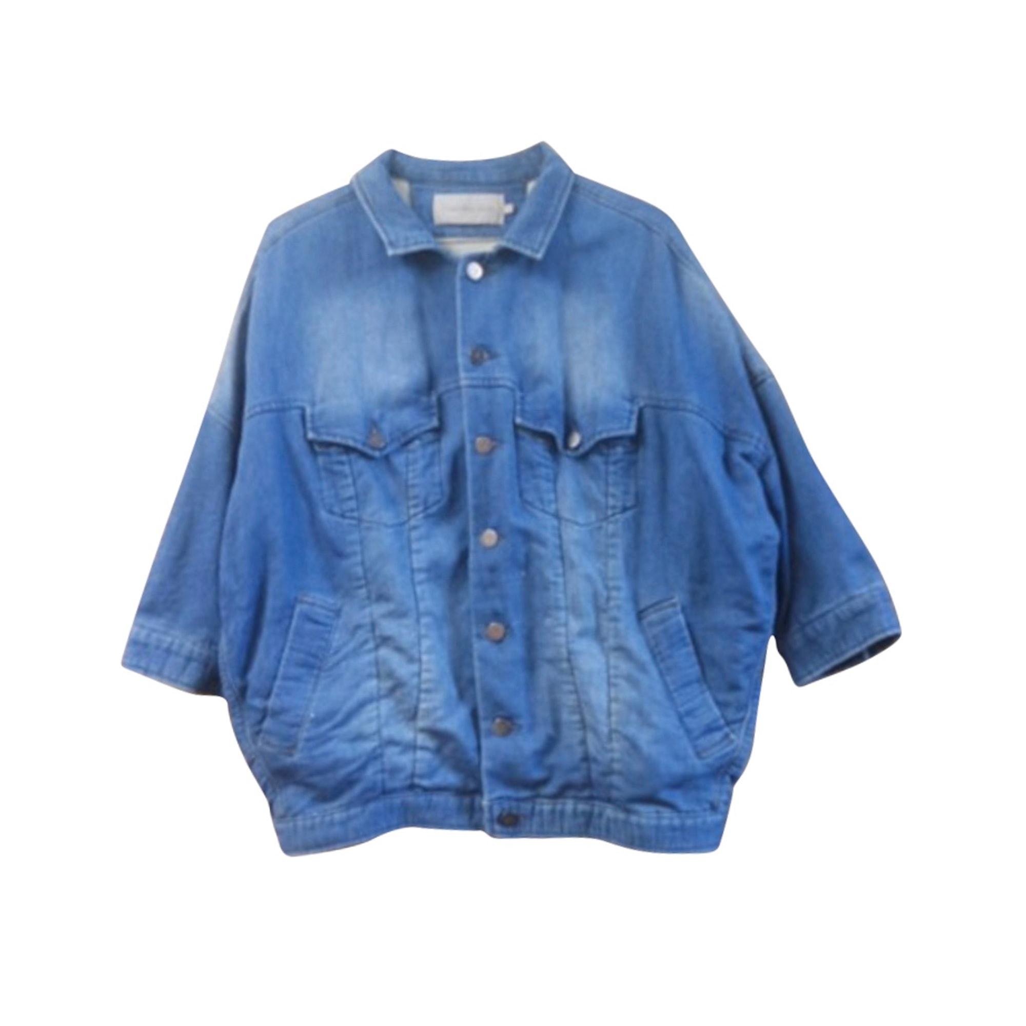 Veste en jean CALVIN KLEIN Bleu, bleu marine, bleu turquoise