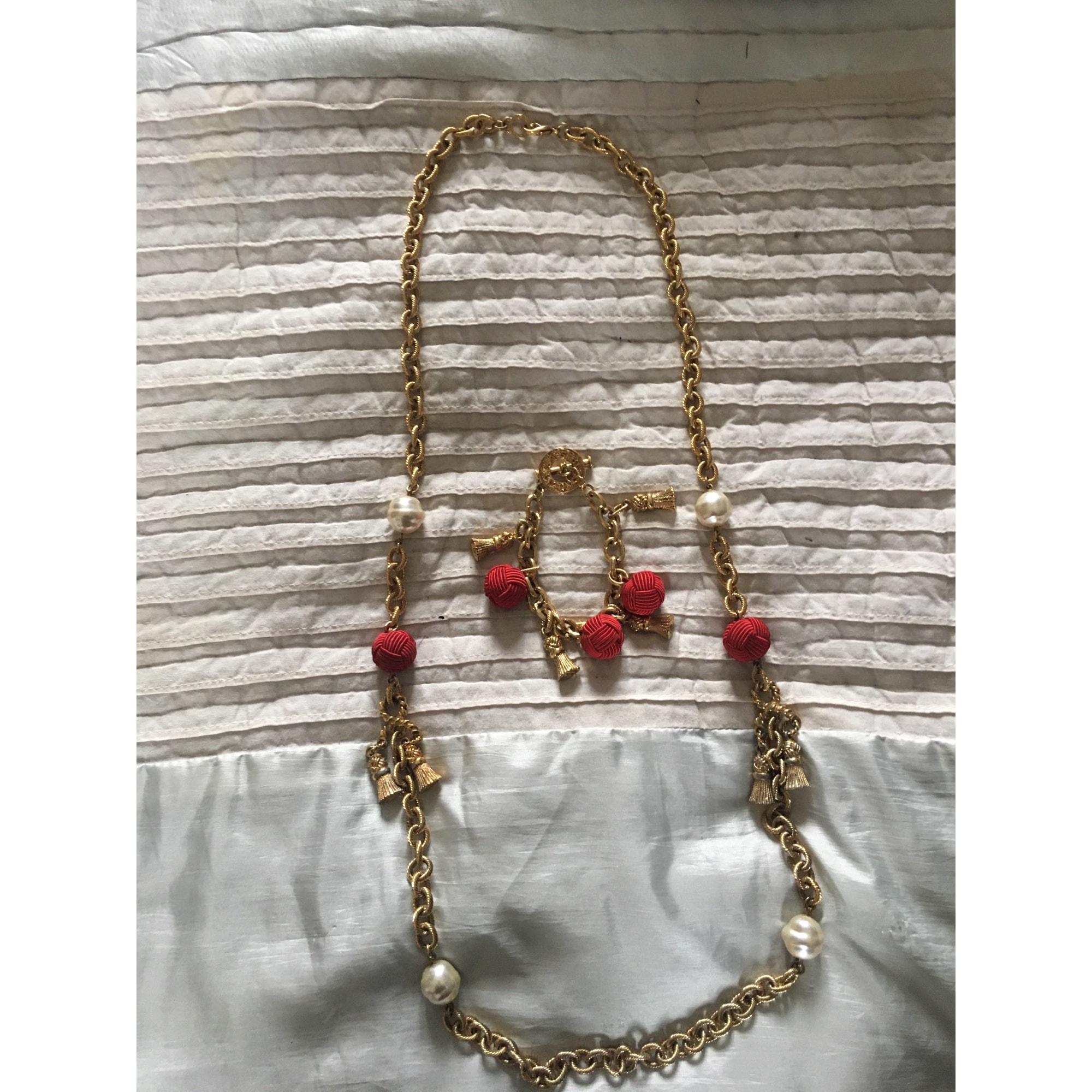 Parure bijoux AGATHA Doré, bronze, cuivre