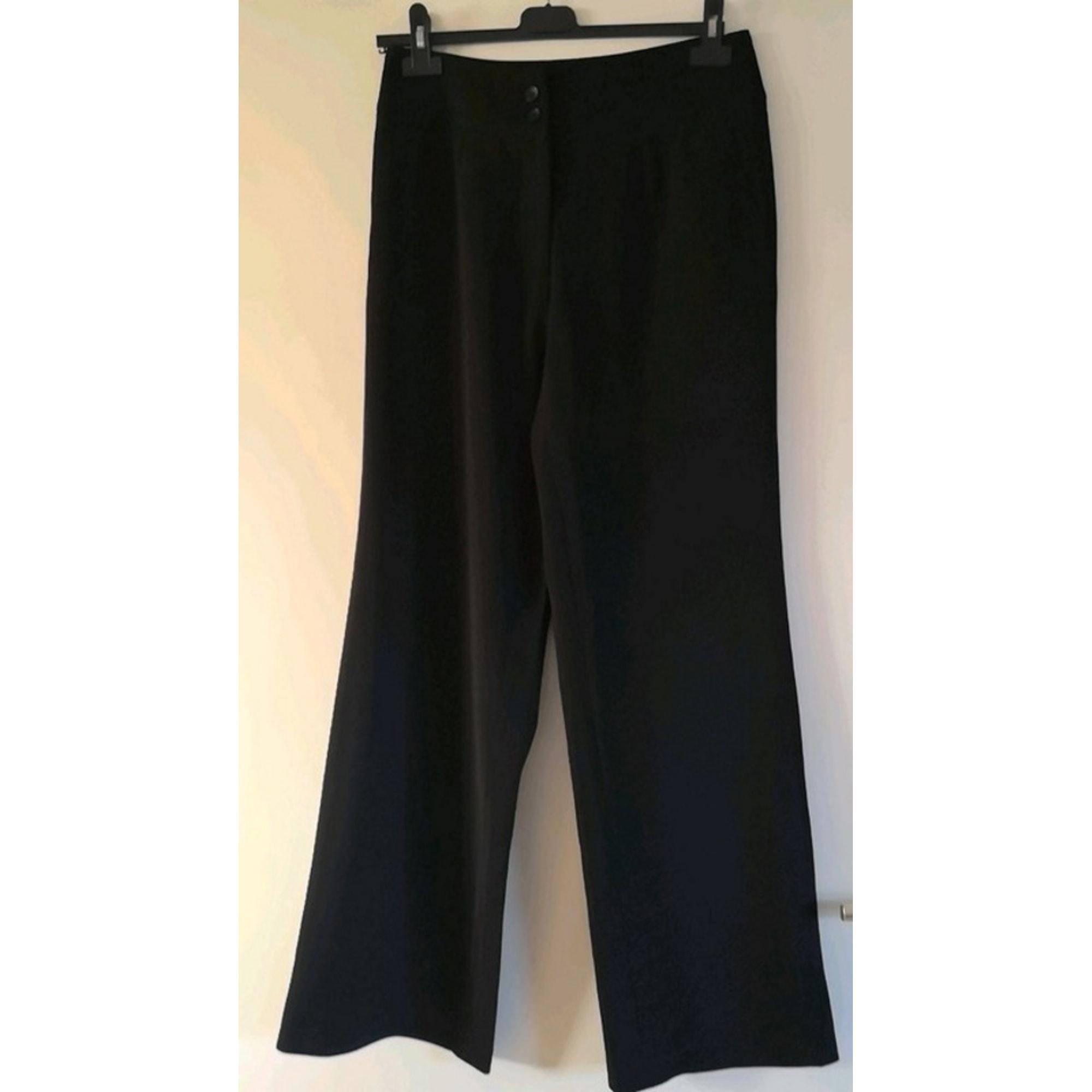 Pantalon droit CAROLE RICHARD Noir
