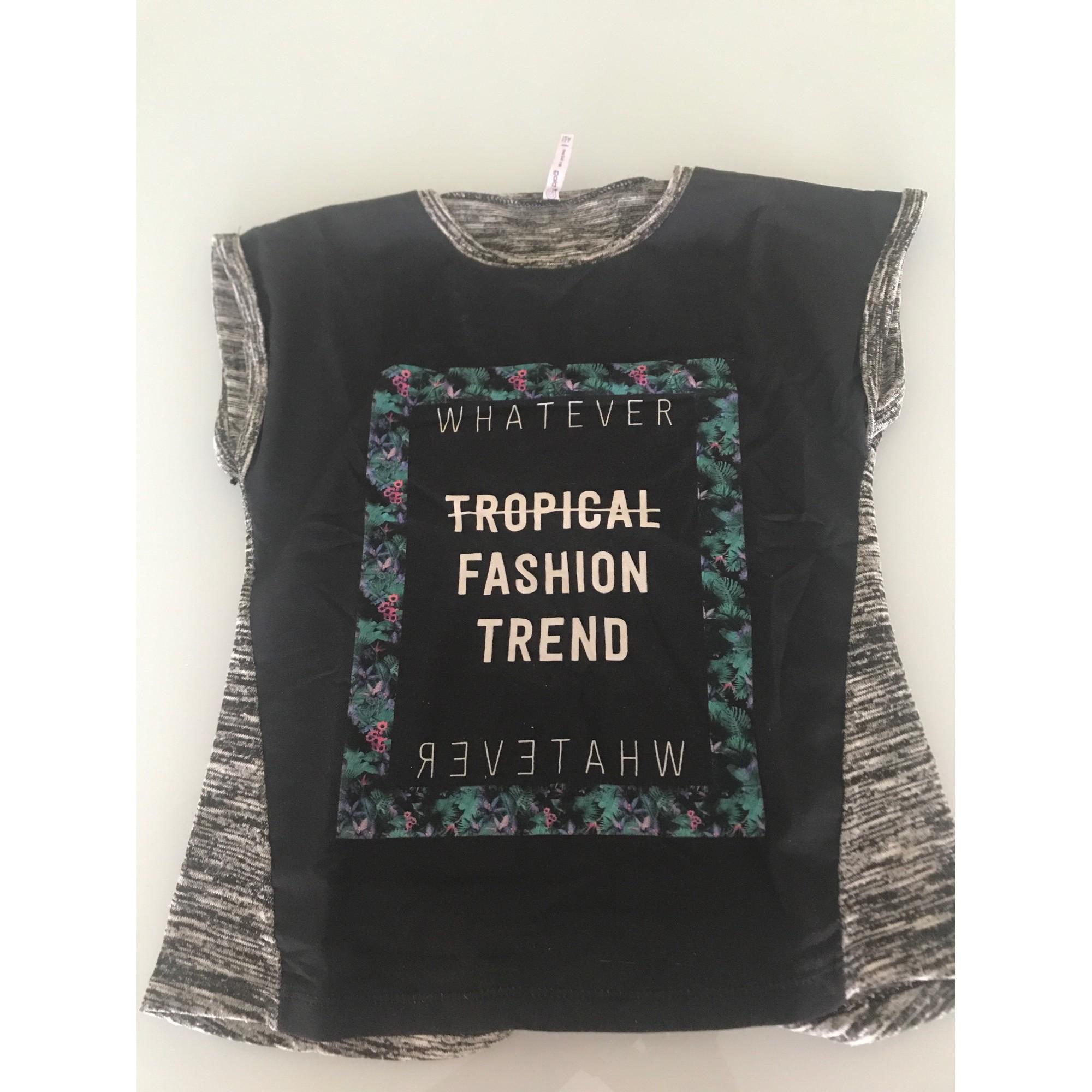 Top, Tee-shirt GÉMO Noir