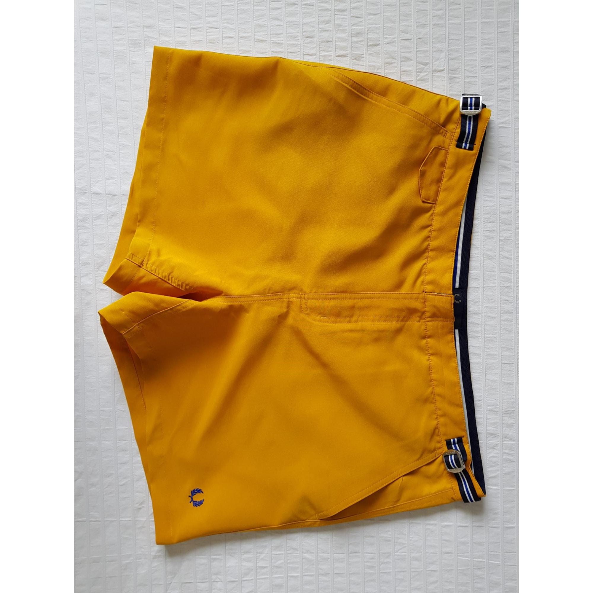 Short de bain FRED PERRY Orange