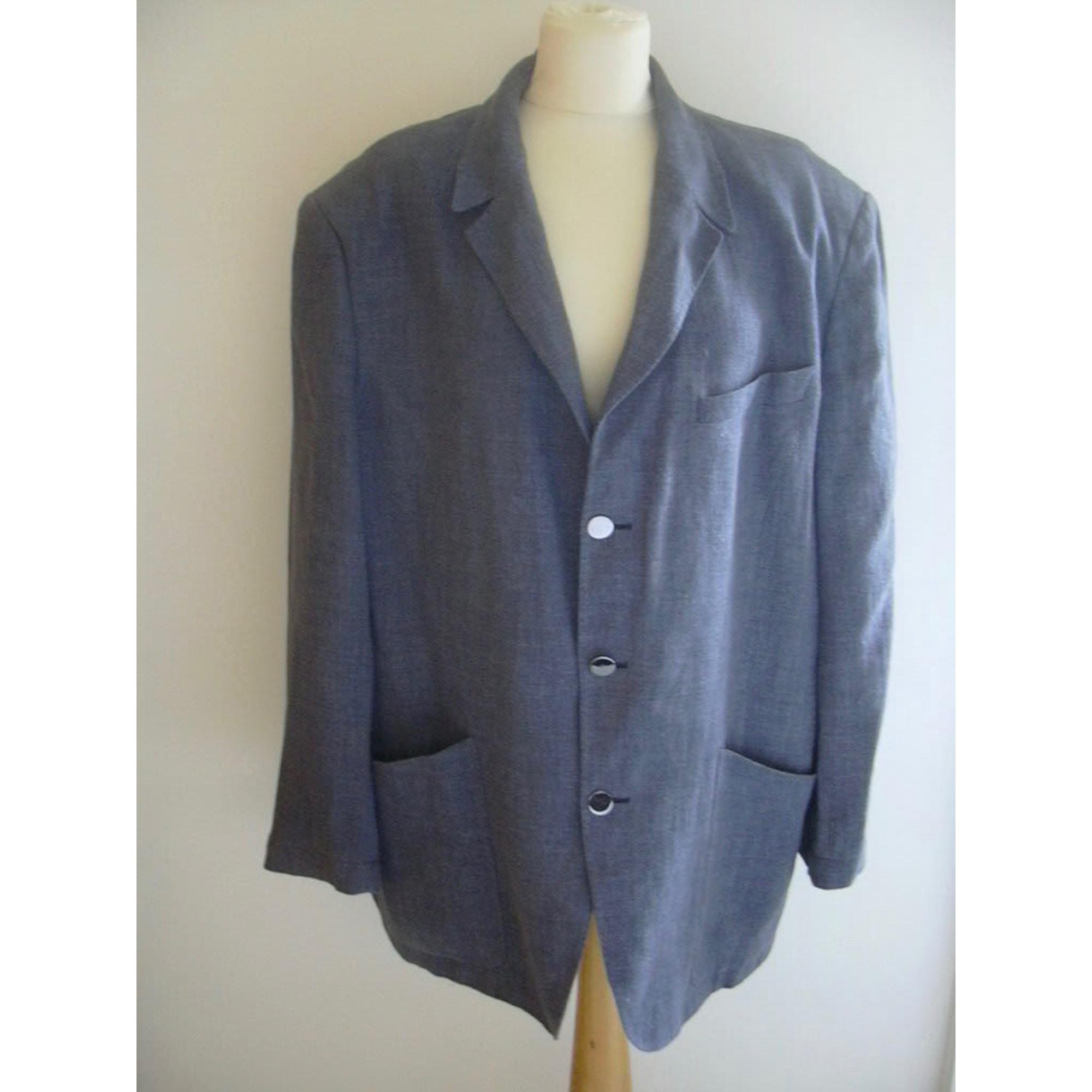 Veste de costume THIERRY MUGLER Bleu, bleu marine, bleu turquoise