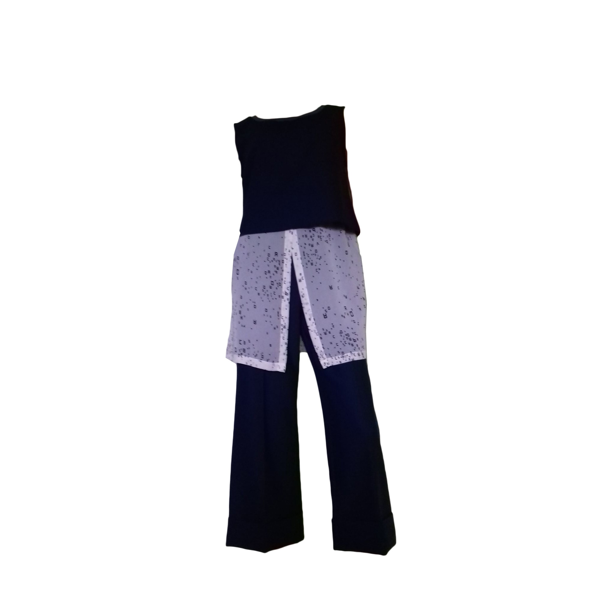 Tailleur pantalon COP-COPINE Bleu, bleu marine, bleu turquoise