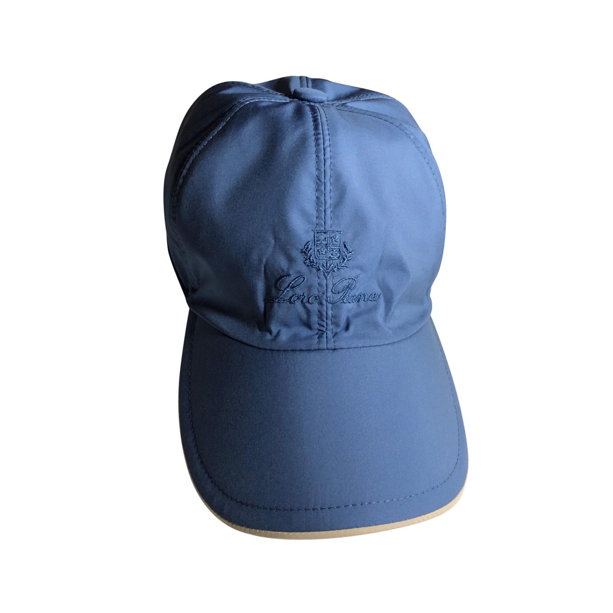 Casquette LORO PIANA Bleu, bleu marine, bleu turquoise
