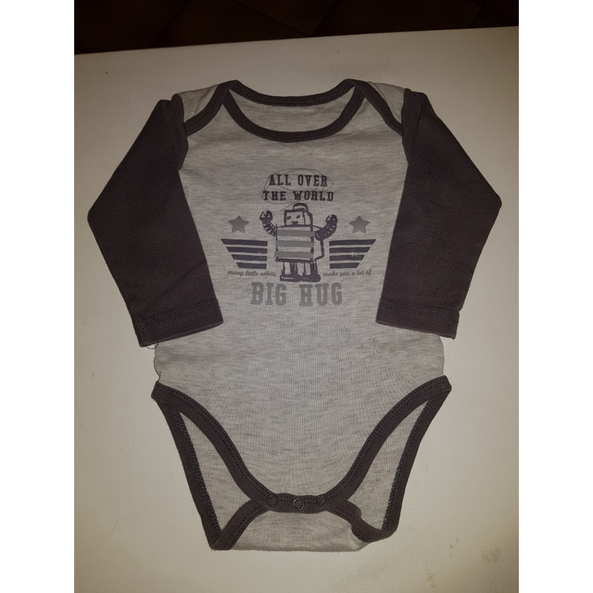 Body TEX BABY Gris, anthracite
