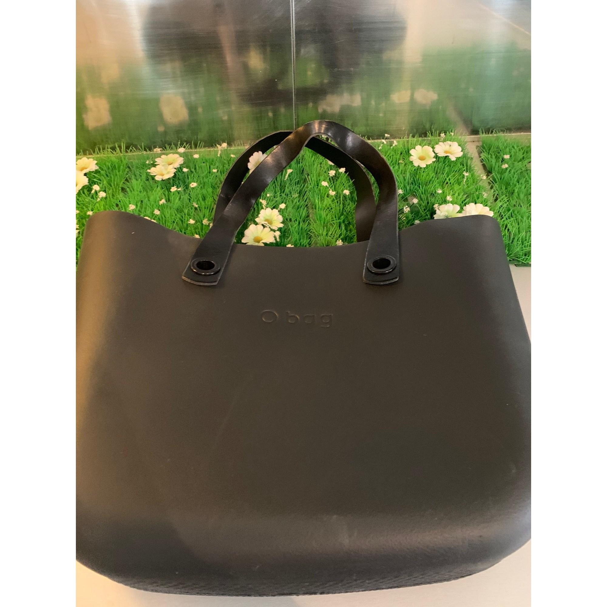 Sac XL en tissu O BAG Noir