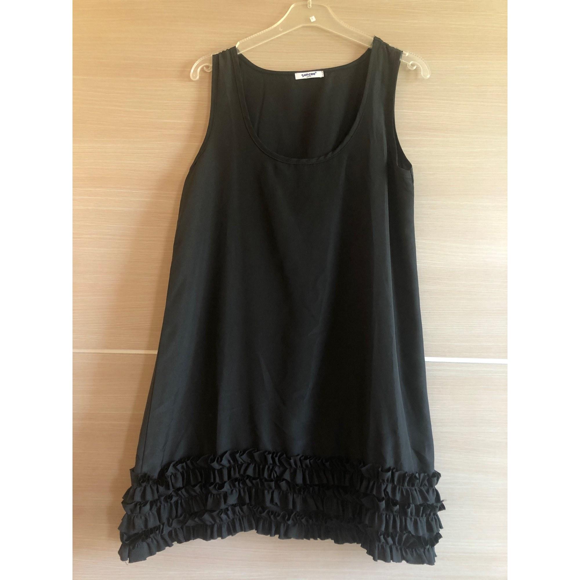 Robe courte SUNCOO Noir