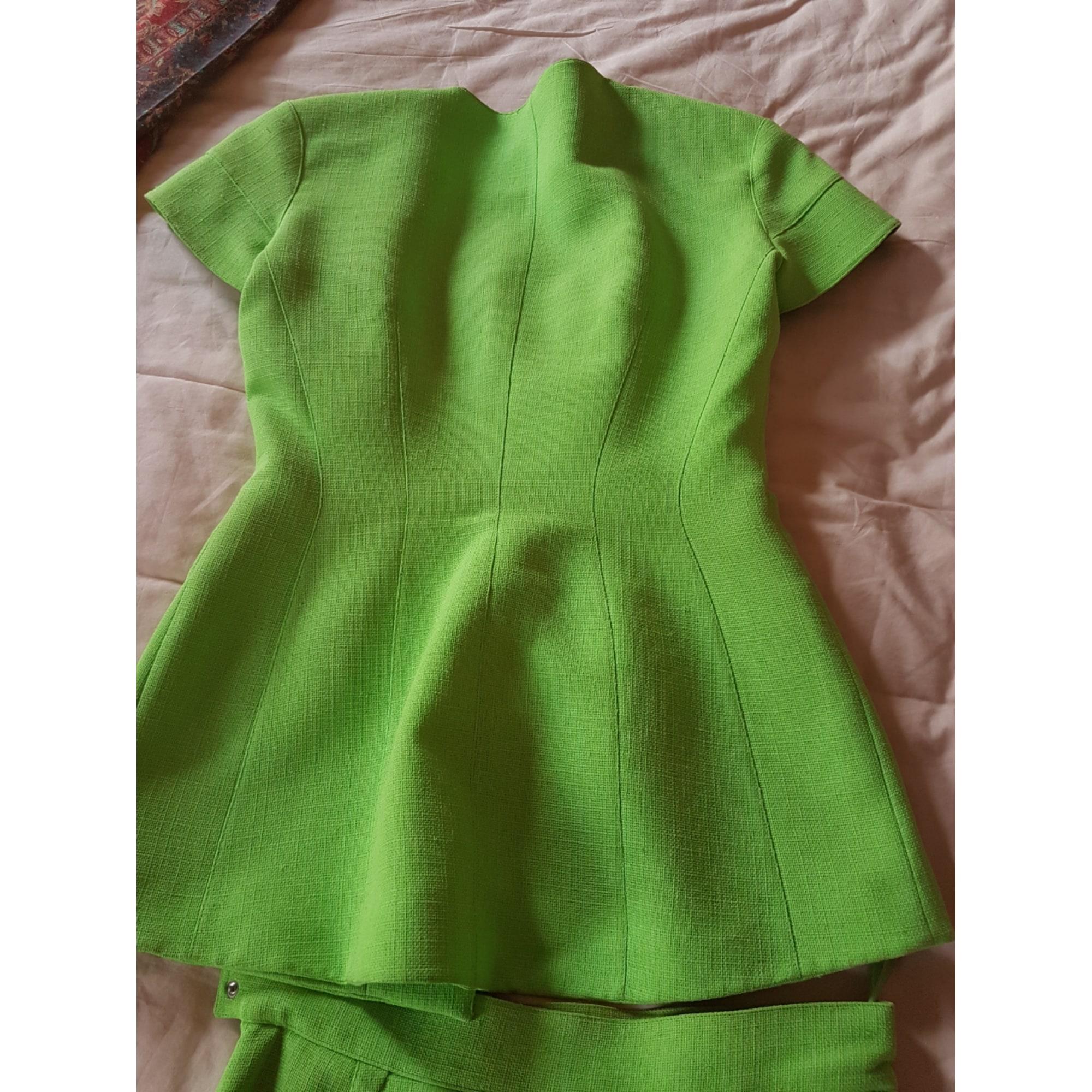Tailleur jupe THIERRY MUGLER Vert