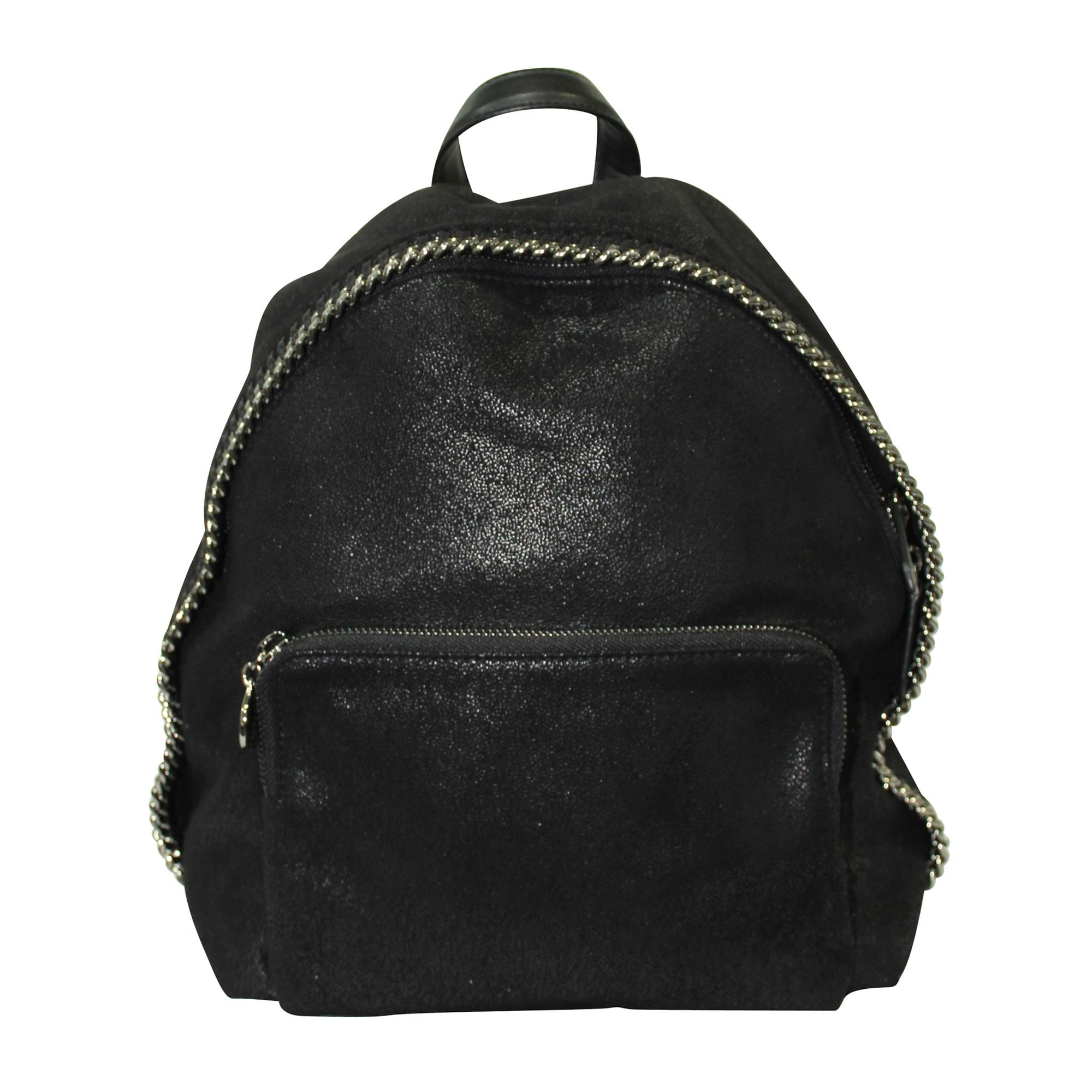 Sac à main en cuir STELLA MCCARTNEY Noir