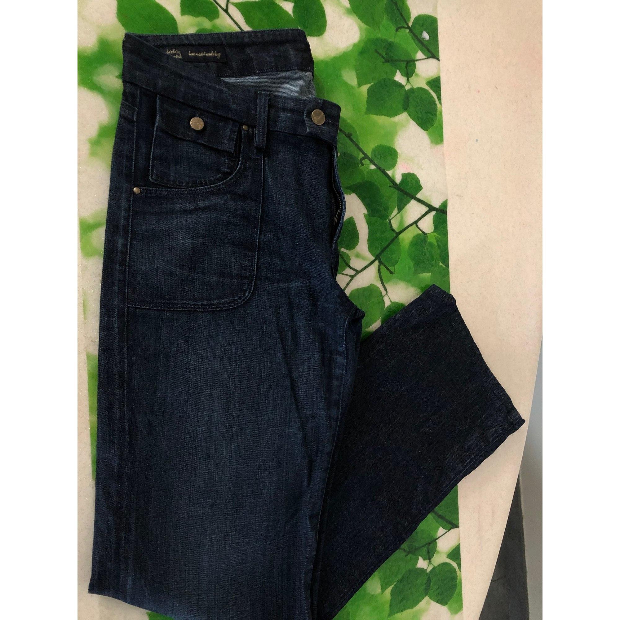 Jeans large, boyfriend CITIZENS OF HUMANITY Bleu, bleu marine, bleu turquoise
