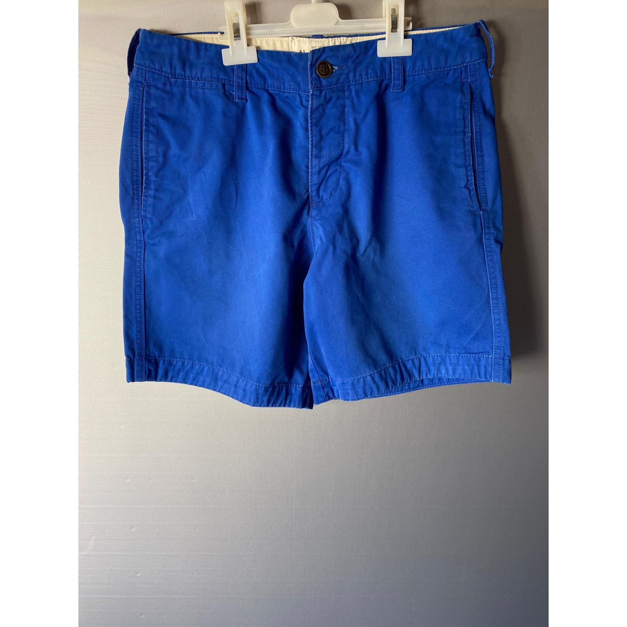 Short ABERCROMBIE & FITCH Bleu, bleu marine, bleu turquoise
