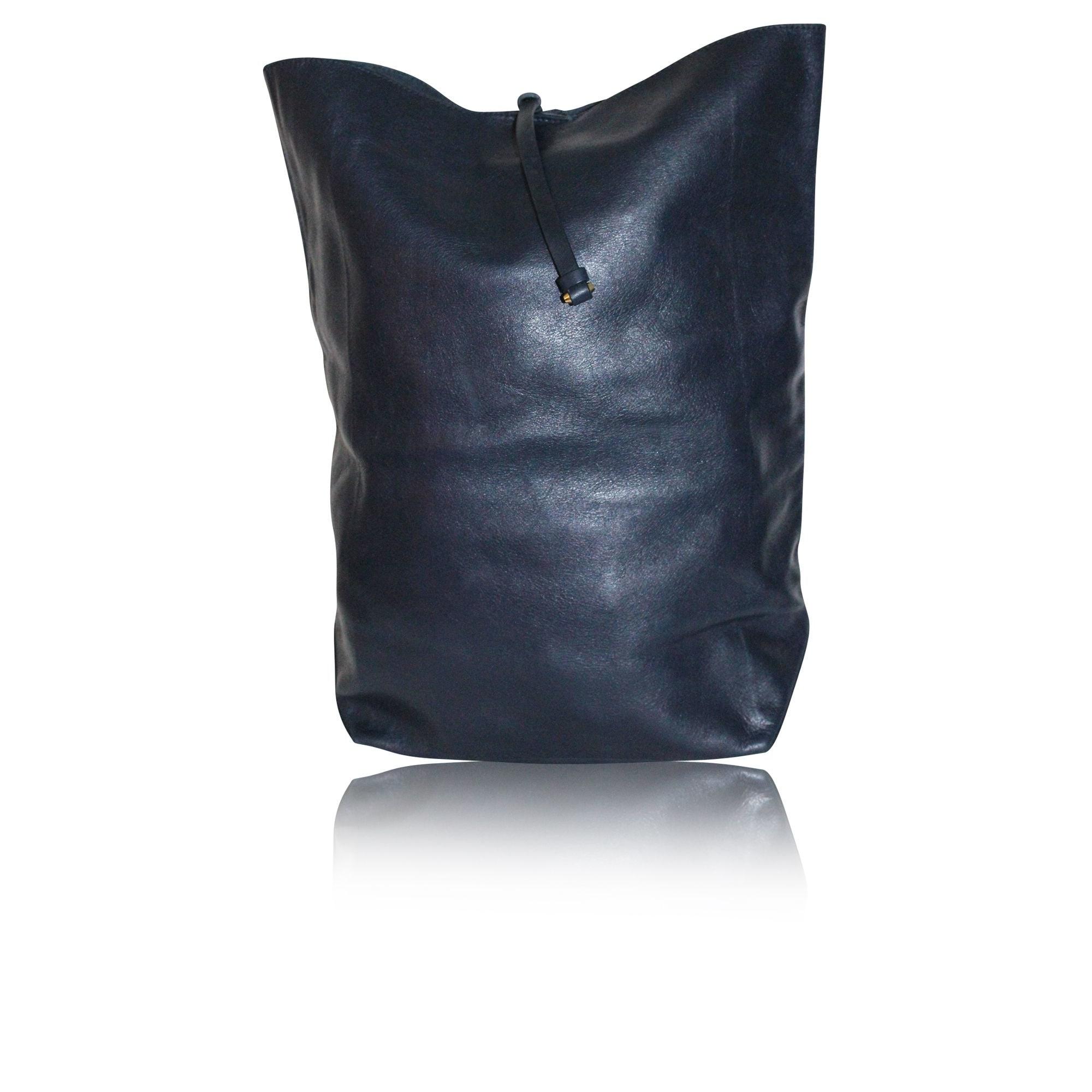 Sac pochette en cuir JIL SANDER Bleu, bleu marine, bleu turquoise