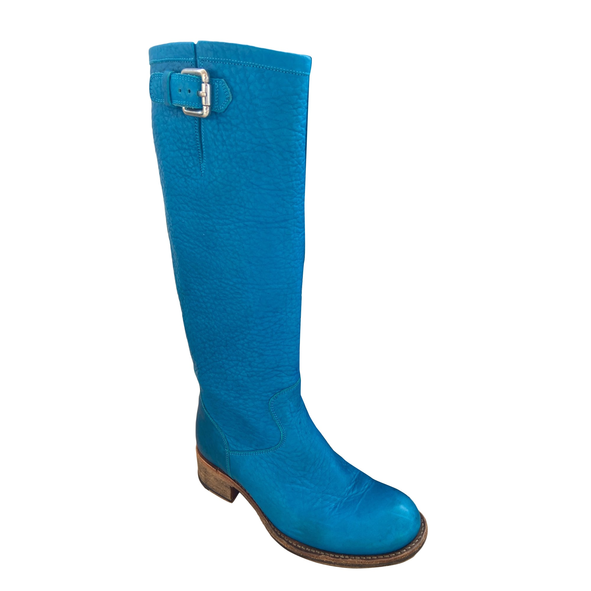 Bottes cavalières FREE LANCE Bleu, bleu marine, bleu turquoise
