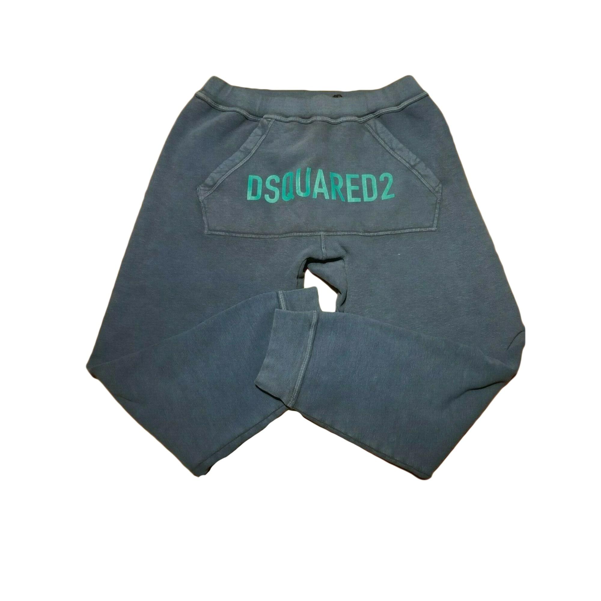 Pantalon slim DSQUARED2 Bleu, bleu marine, bleu turquoise