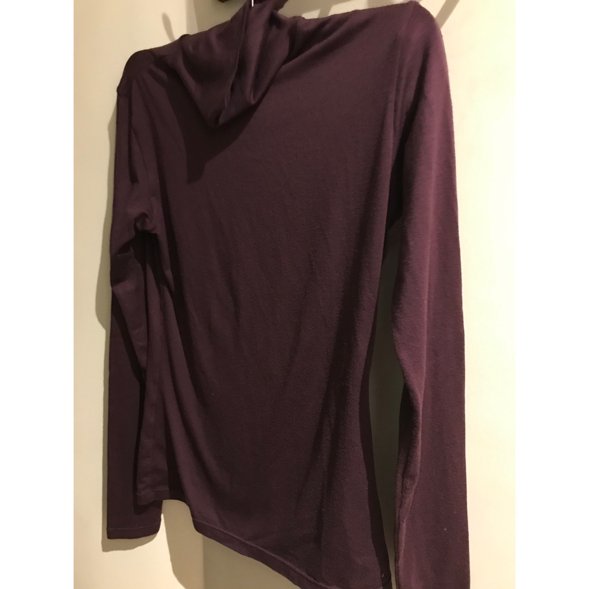Pull UNIQLO Rouge, bordeaux