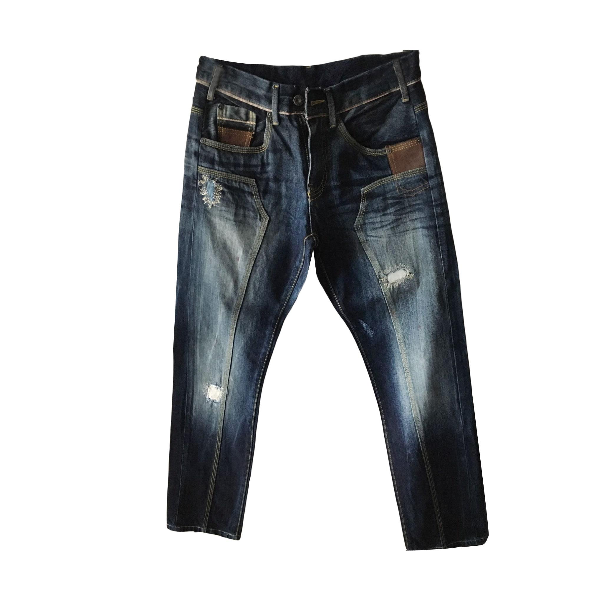 Jeans droit PEPE JEANS Bleu, bleu marine, bleu turquoise