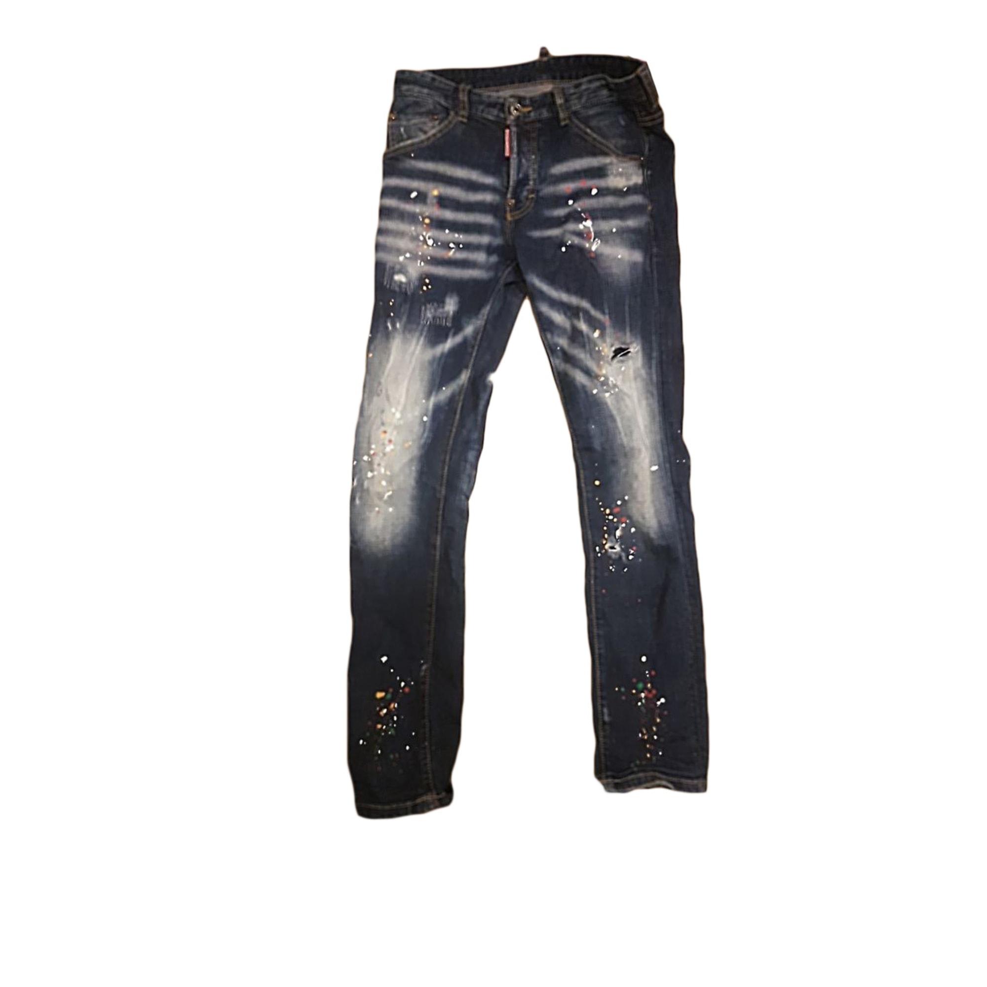 Jeans droit DSQUARED2 Multicouleur