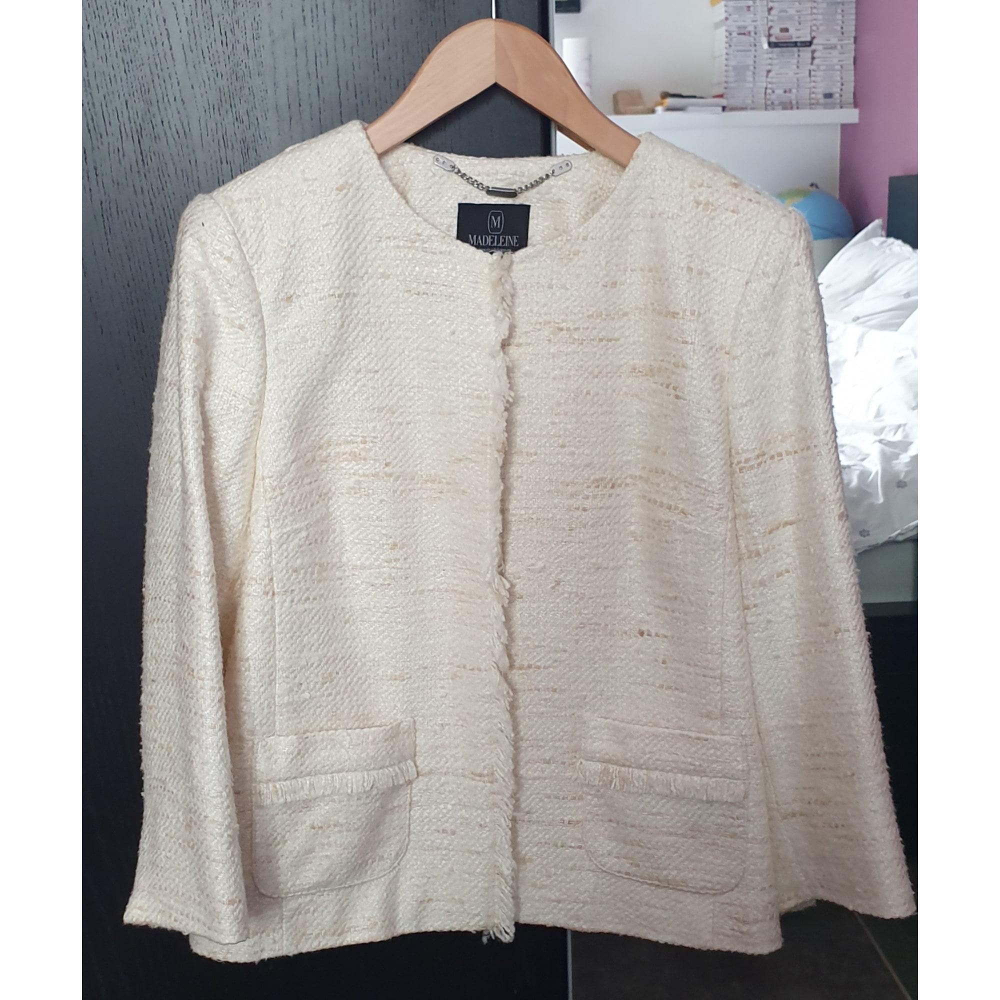 Blazer, veste tailleur MADELEINE Blanc, blanc cassé, écru