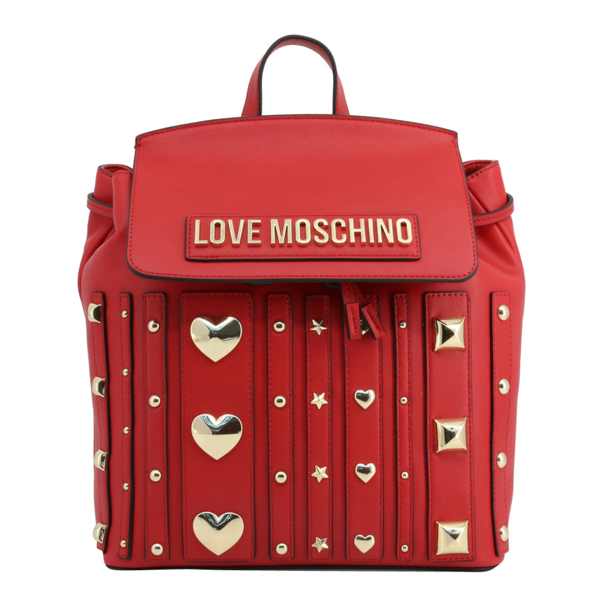 Sac à dos LOVE MOSCHINO Rouge, bordeaux