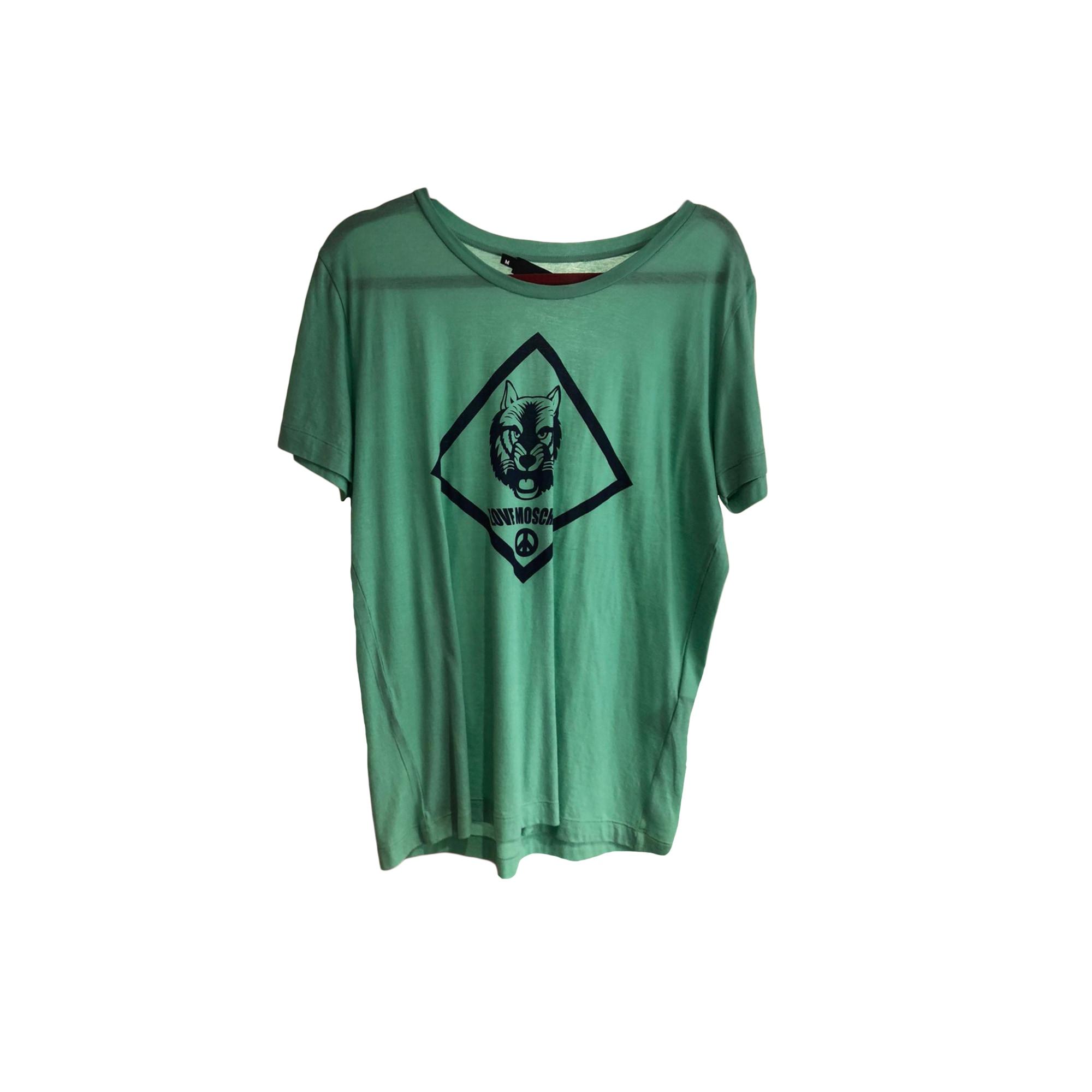 Tee-shirt LOVE MOSCHINO Violet, mauve, lavande