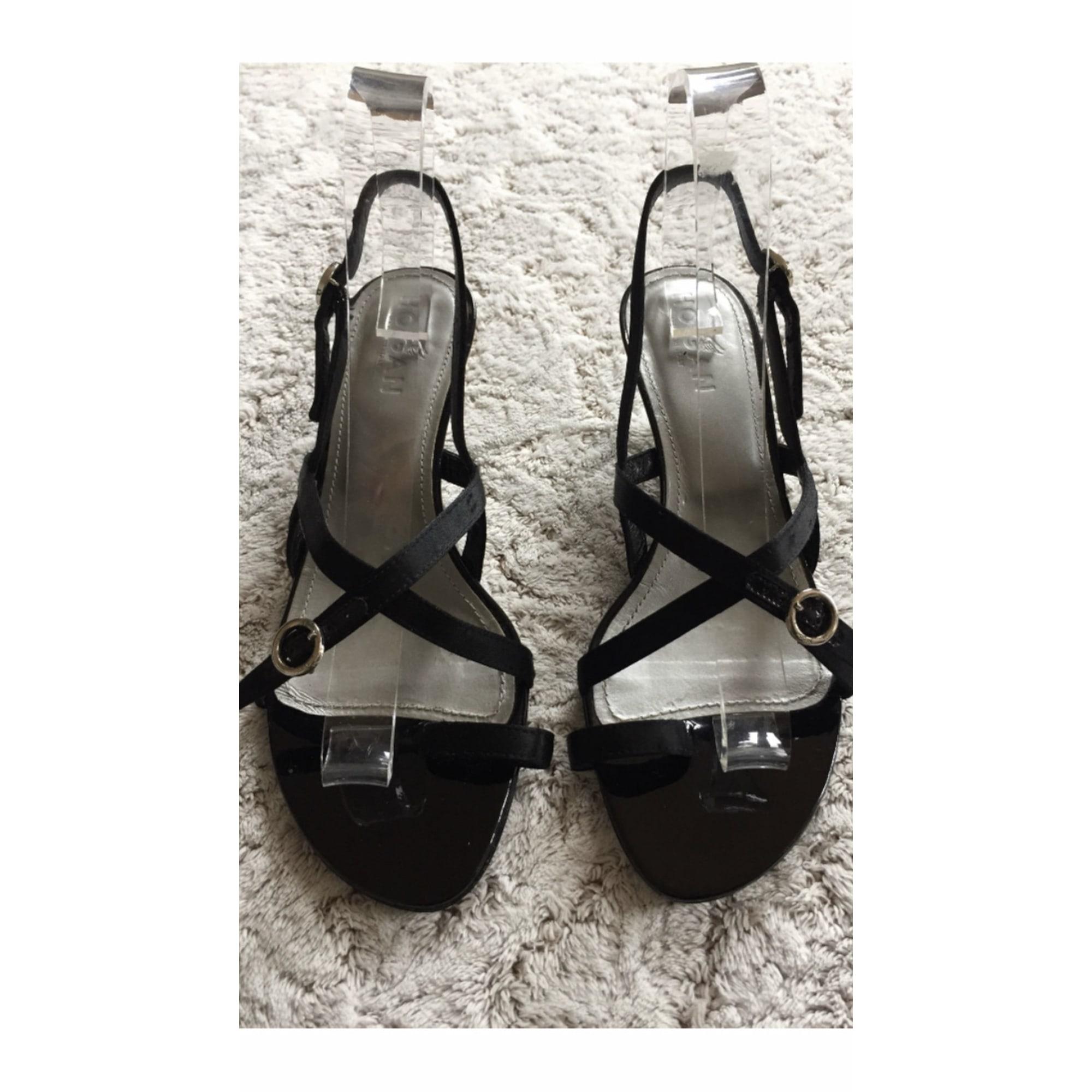 Sandales à talons HOGAN Noir