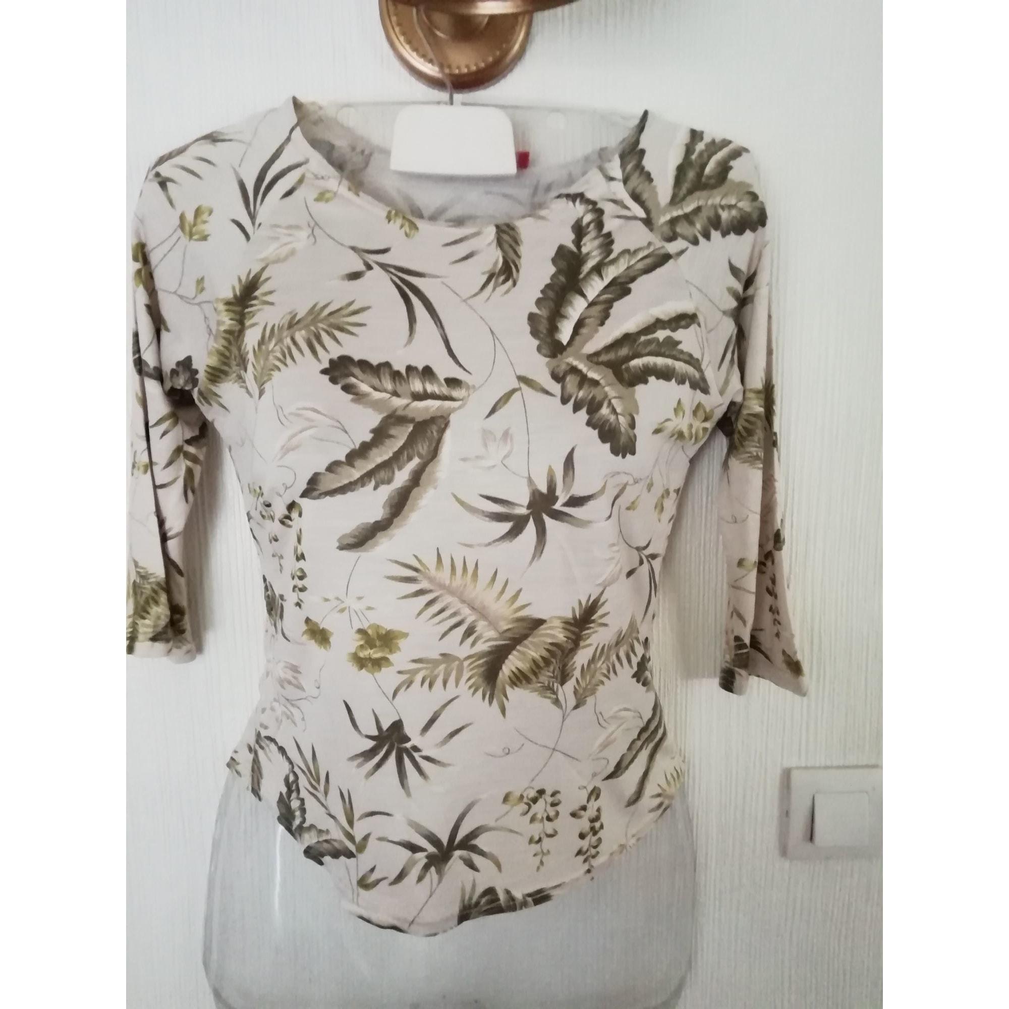 Top, tee-shirt ALAIN MANOUKIAN Beige, camel
