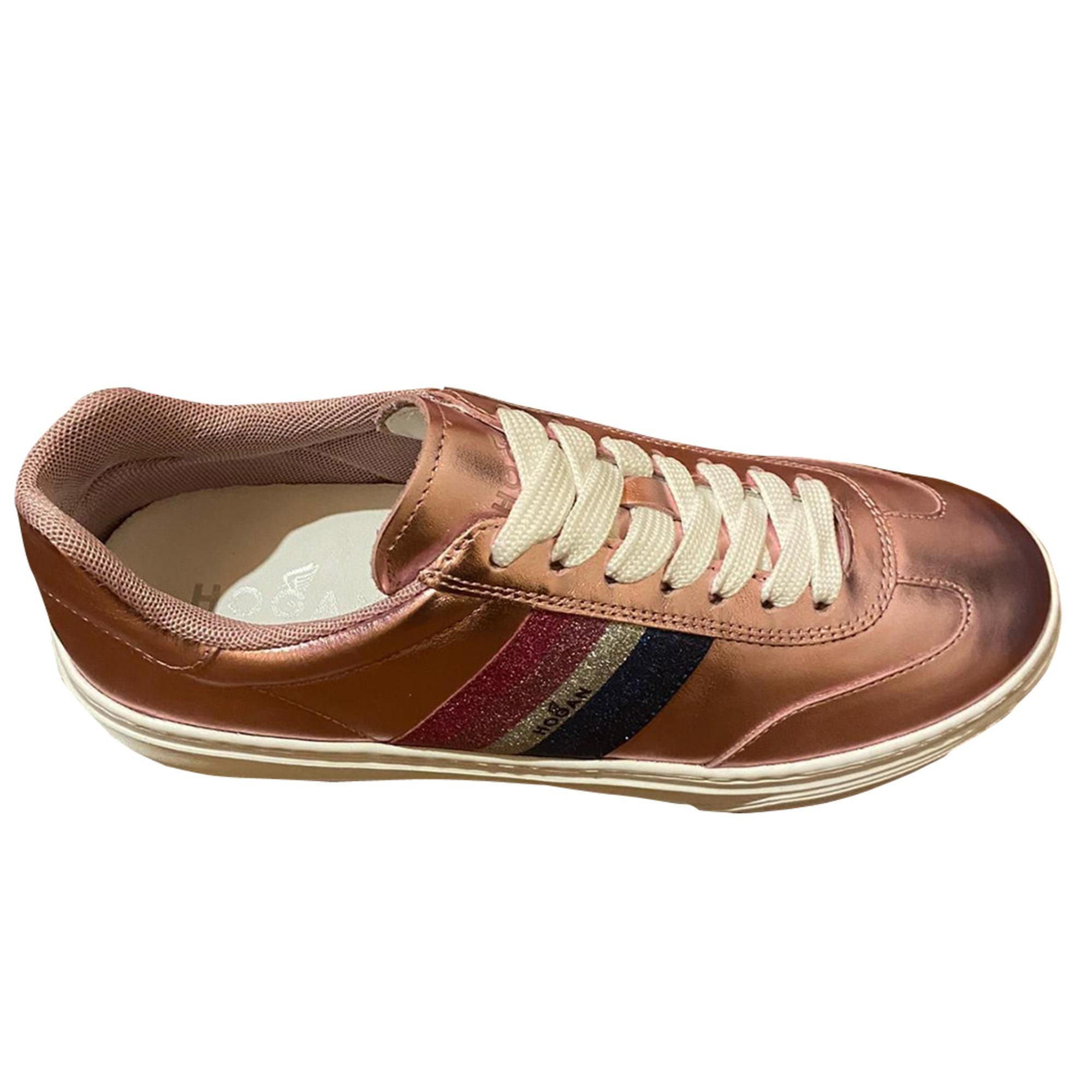Chaussures de sport HOGAN Rose, fuschia, vieux rose