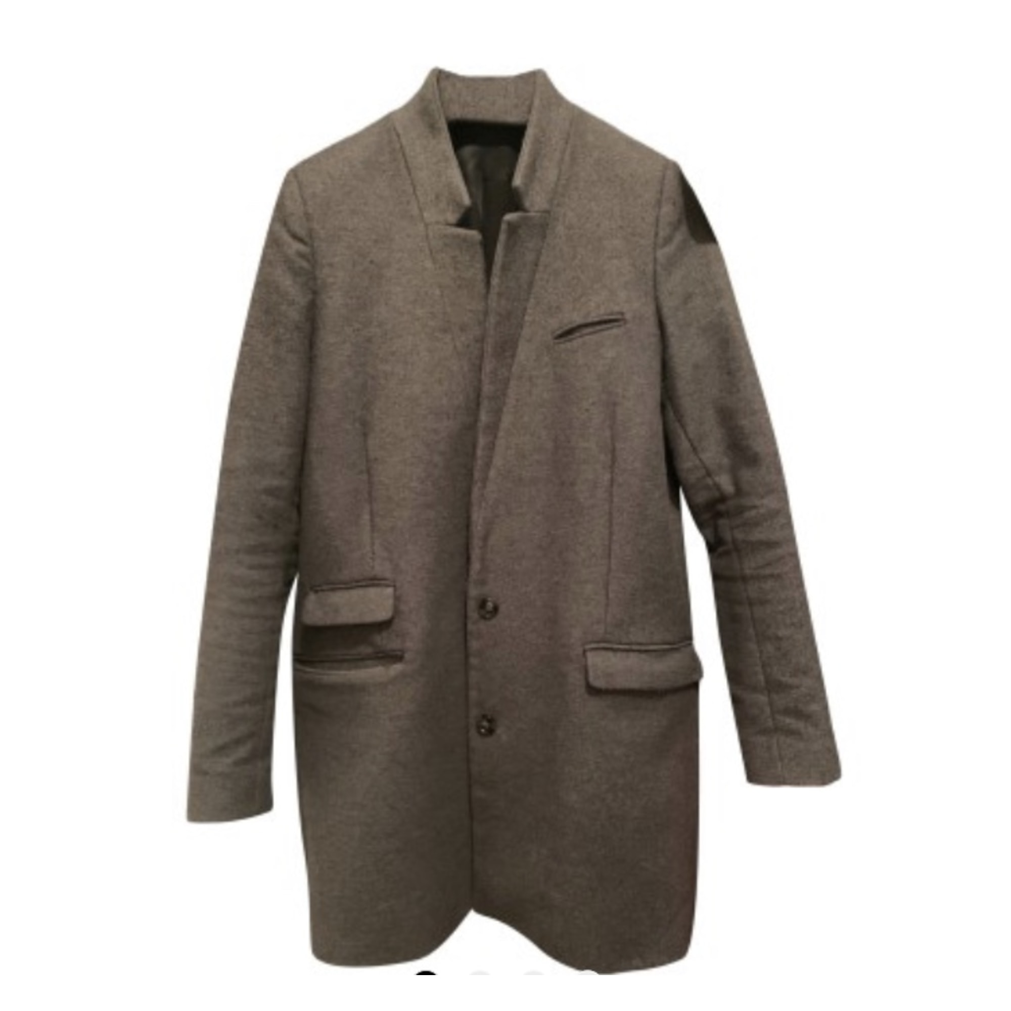 Manteau THE KOOPLES Gris, anthracite