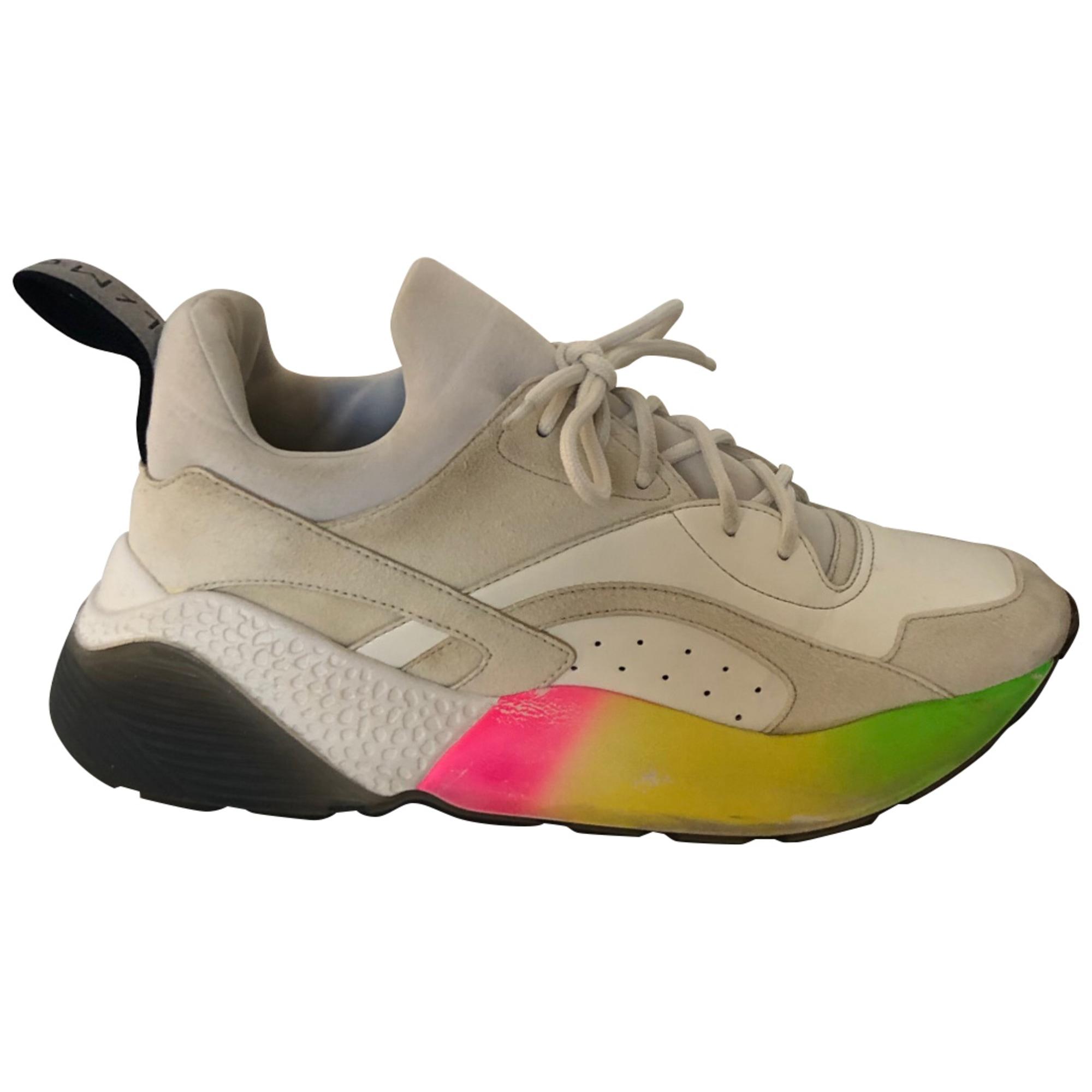 Chaussures de sport STELLA MCCARTNEY Blanc, blanc cassé, écru