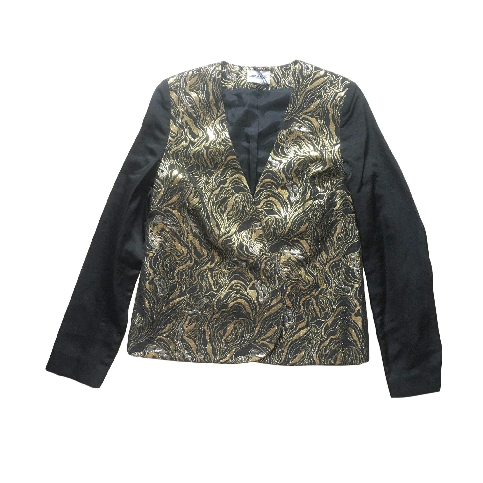 Blazer, veste tailleur AMERICAN RETRO Doré, bronze, cuivre