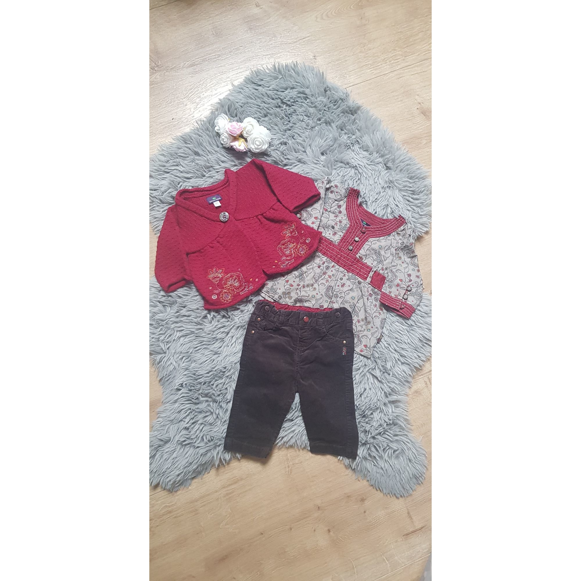 Ensemble & Combinaison pantalon SERGENT MAJOR Rouge, bordeaux