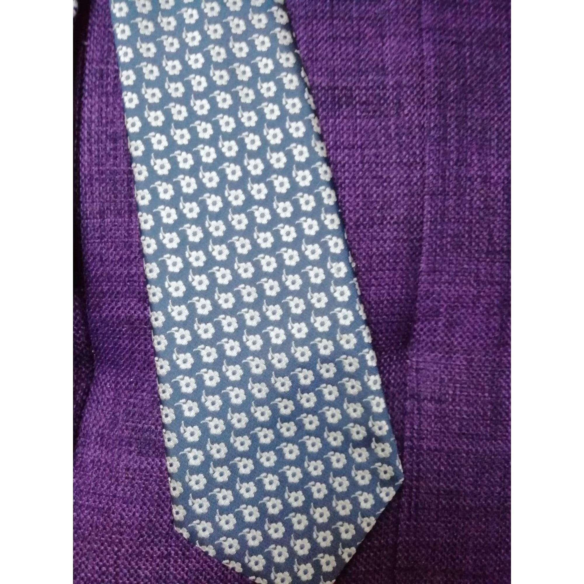 Cravate MARC ANTHONY Bleu, bleu marine, bleu turquoise