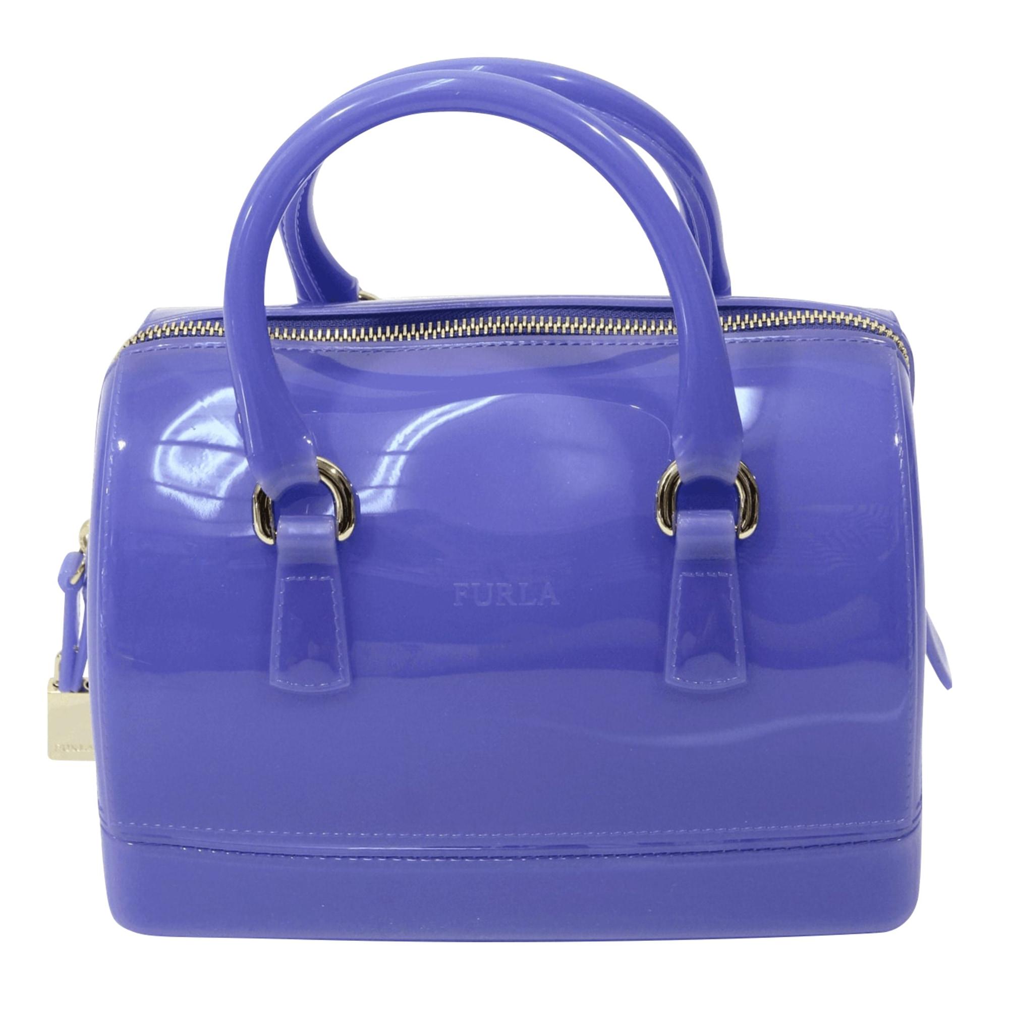 Mallette FURLA Bleu, bleu marine, bleu turquoise