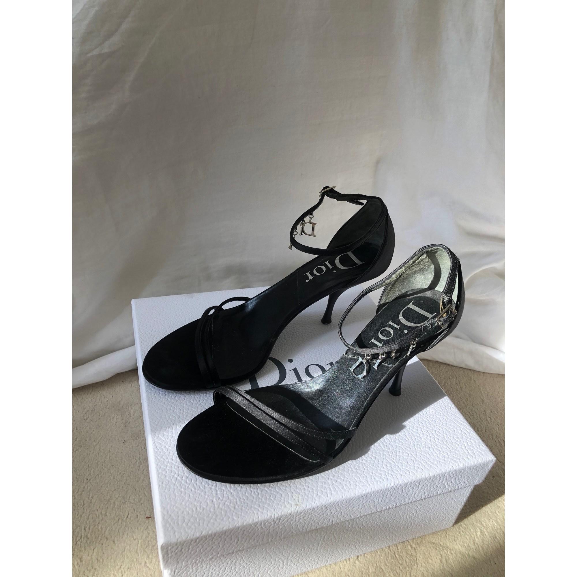Sandales à talons DIOR Noir