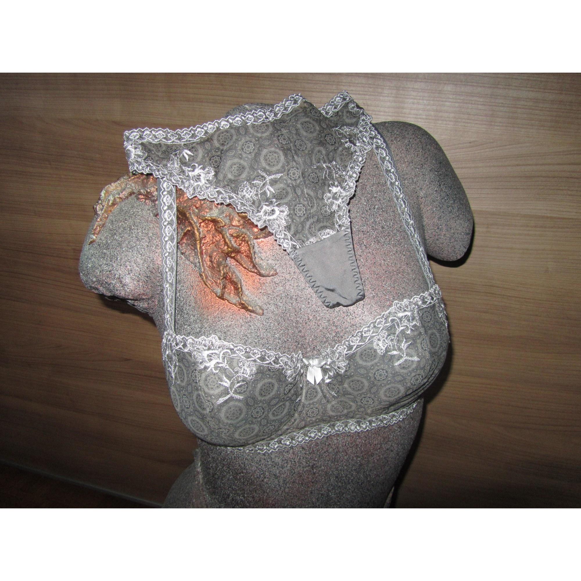 Ensemble, parure lingerie BOLERO Gris, anthracite