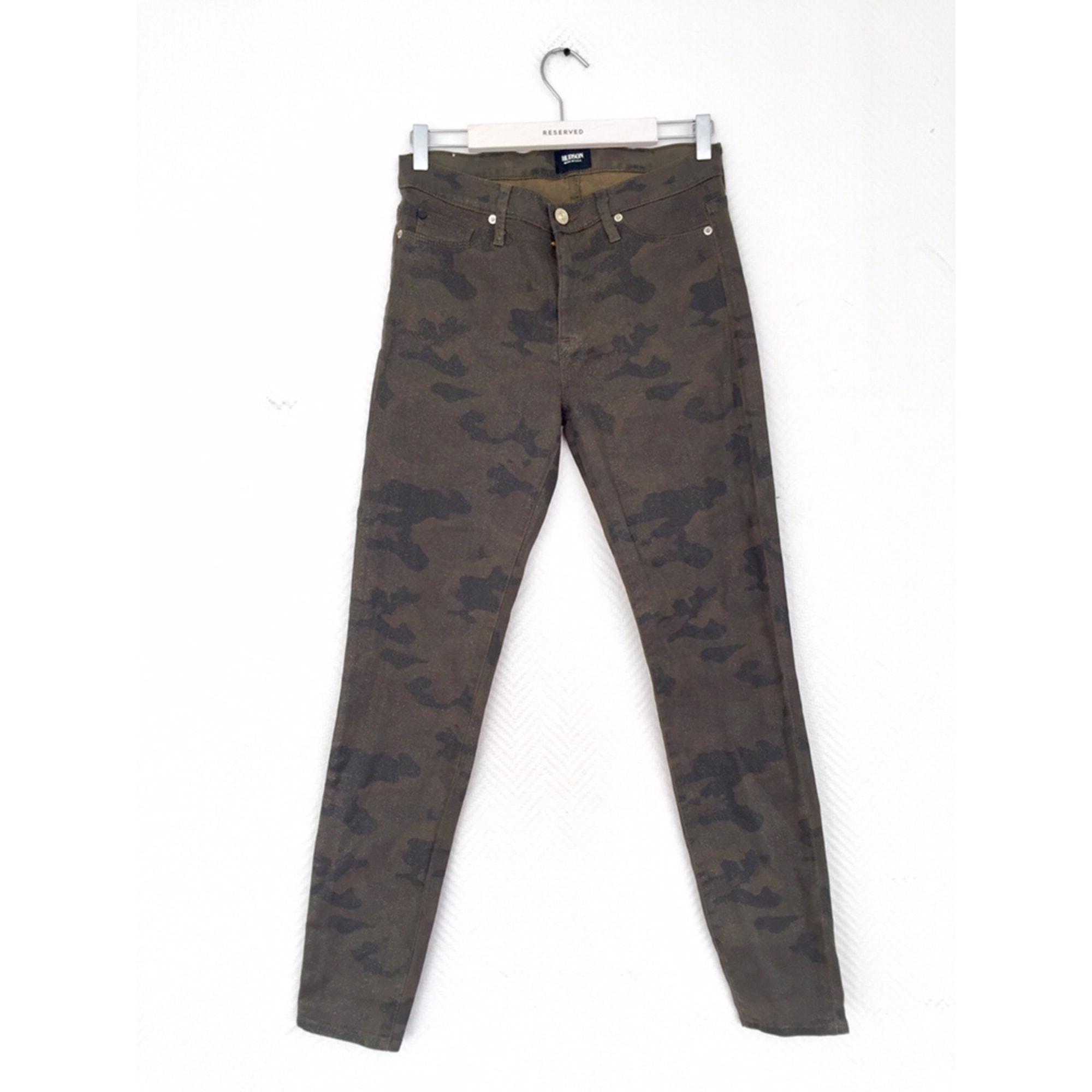 Jeans slim HUDSON JEANS Vert