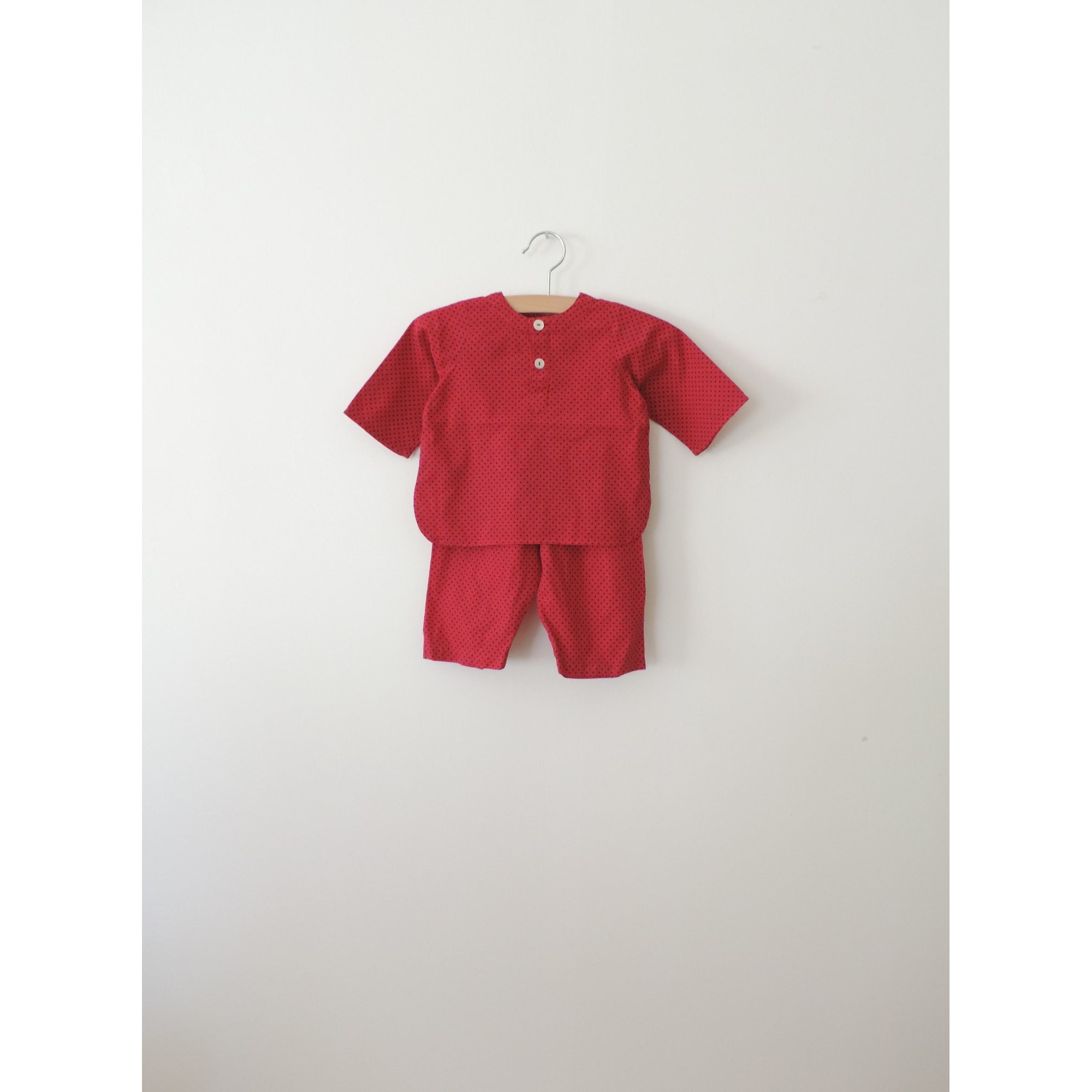 Ensemble & Combinaison pantalon BONTON Rouge, bordeaux