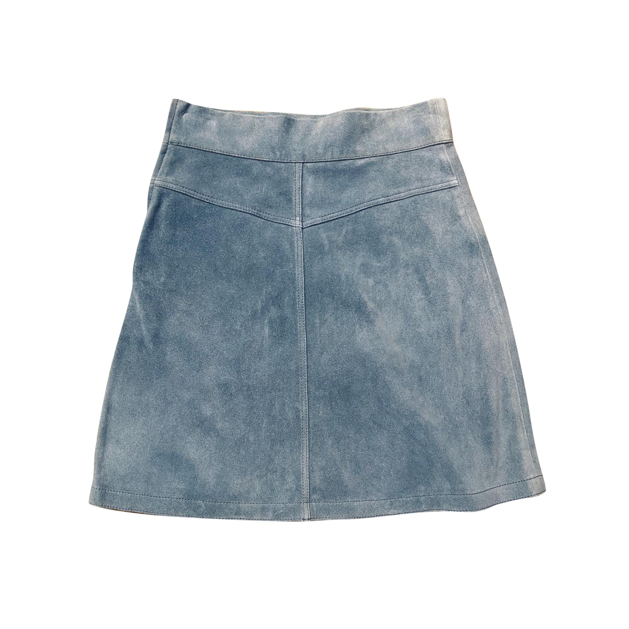 Jupe courte SEE BY CHLOE Bleu, bleu marine, bleu turquoise